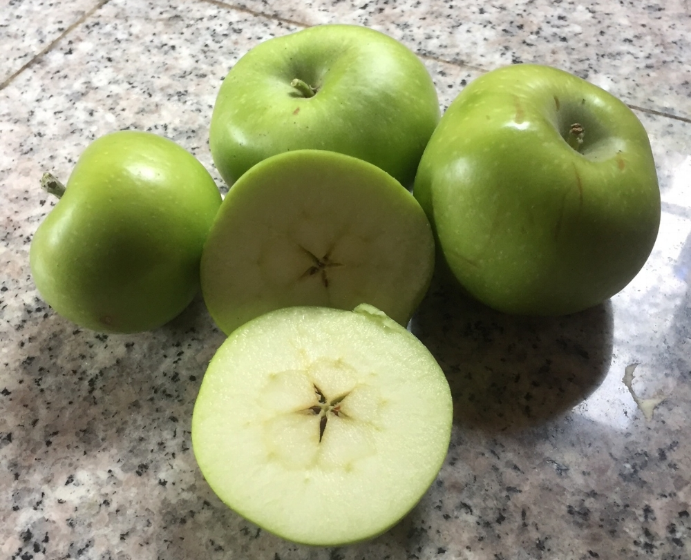 From Snow White and the Seven Dwarfs:  Evil Queen:   And because you've been so good to poor old Granny, I'll share a secret with you. This is no ordinary apple, it's a magic wishing apple.   Snow White:   A wishing apple?   Evil Queen:   Yes! One bite, and all your dreams will come true.