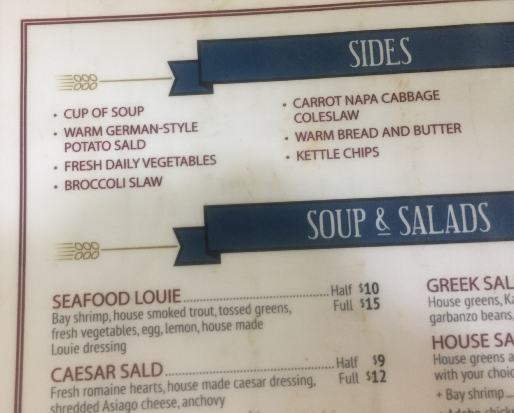 """""""they have the best Caesar salad in the county,"""" Carly Turner"""