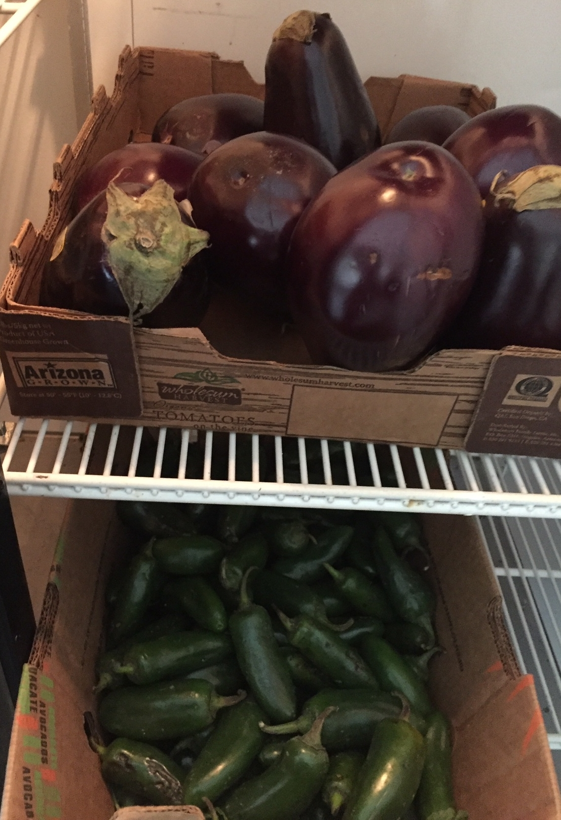 Fresh produce is donated to SFA by General Produce.