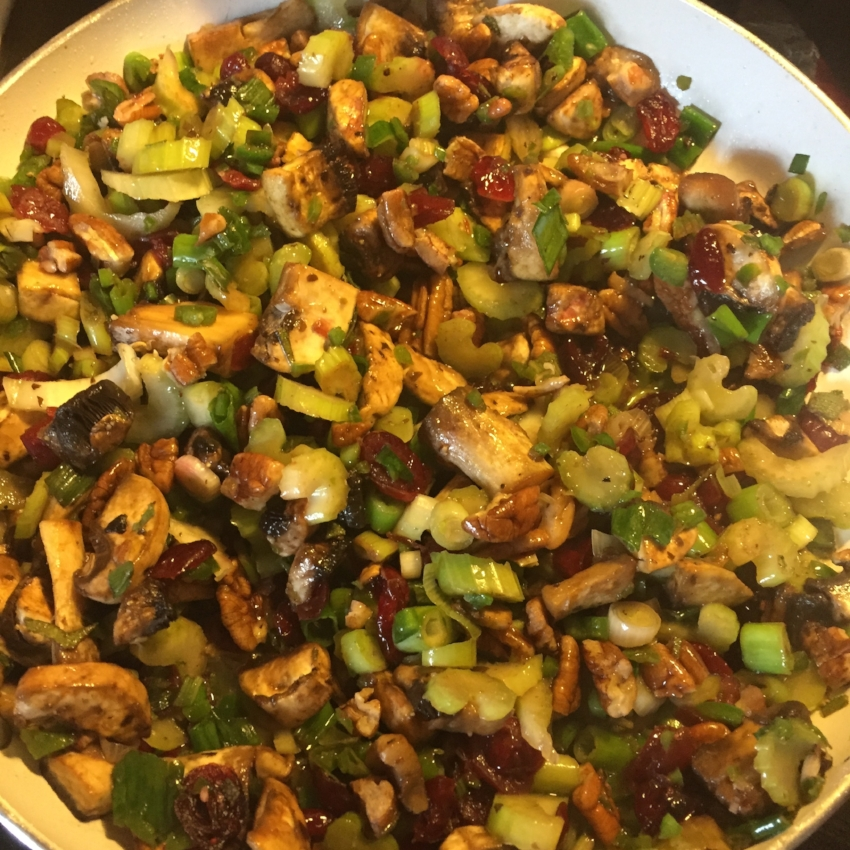 Kimberly Harper's  recipes for untraditional and Traditional Stuffing Recipe