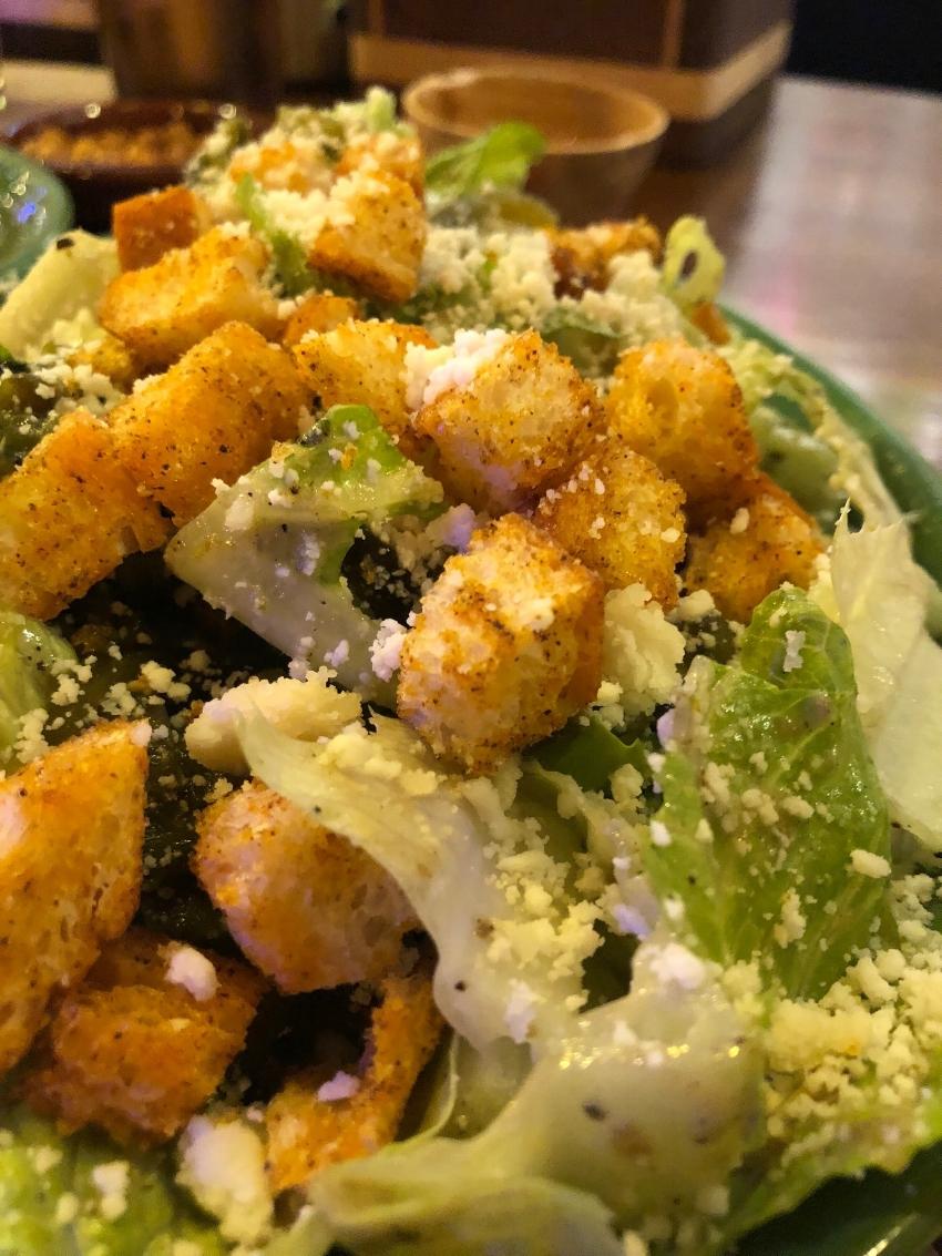 Roasted Poblano Caesar Salad - photo by Stella Davies