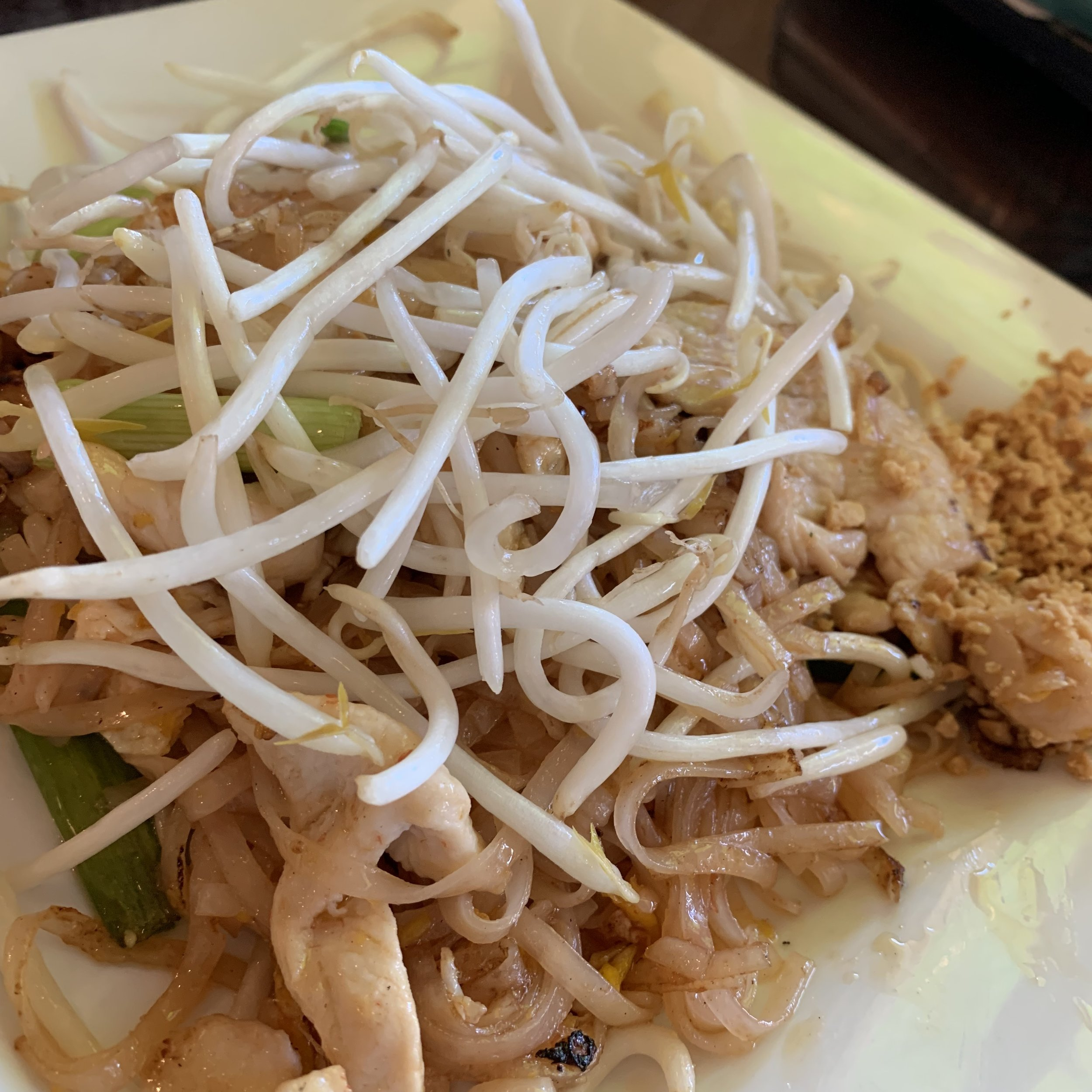 Pad Thai - a classic Thai dish that Natalee Thai does very well