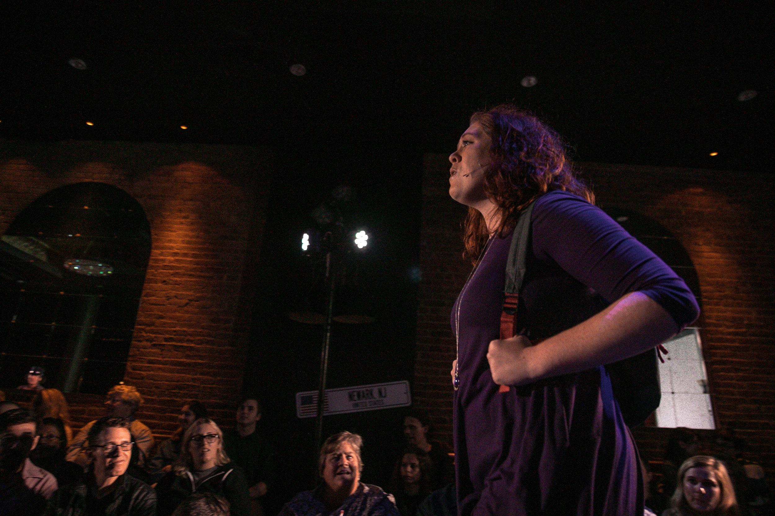 pictured: Miranda Luze, photo by Zack Morrison