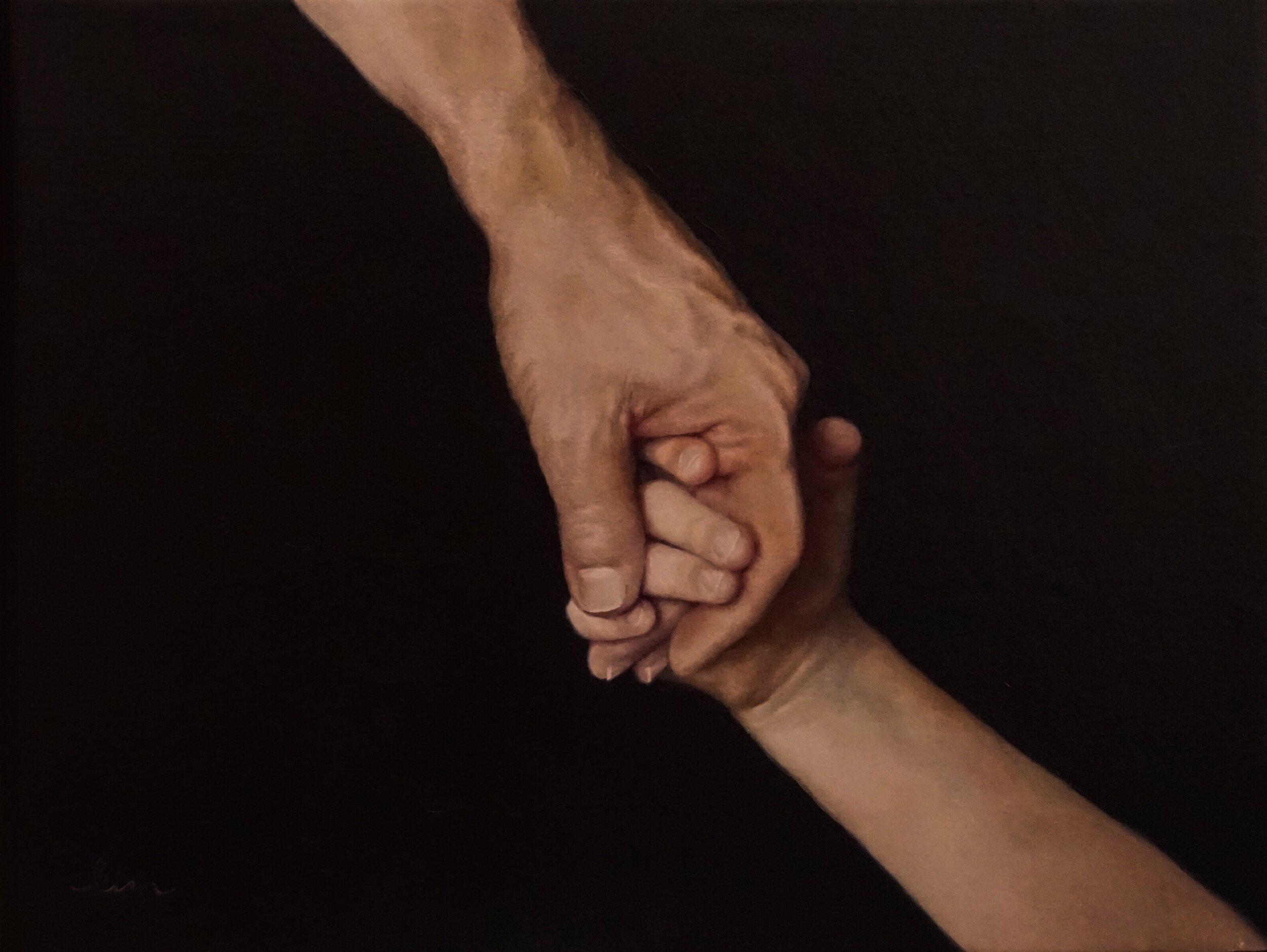 Oil on Canvas  35 x 27 cm