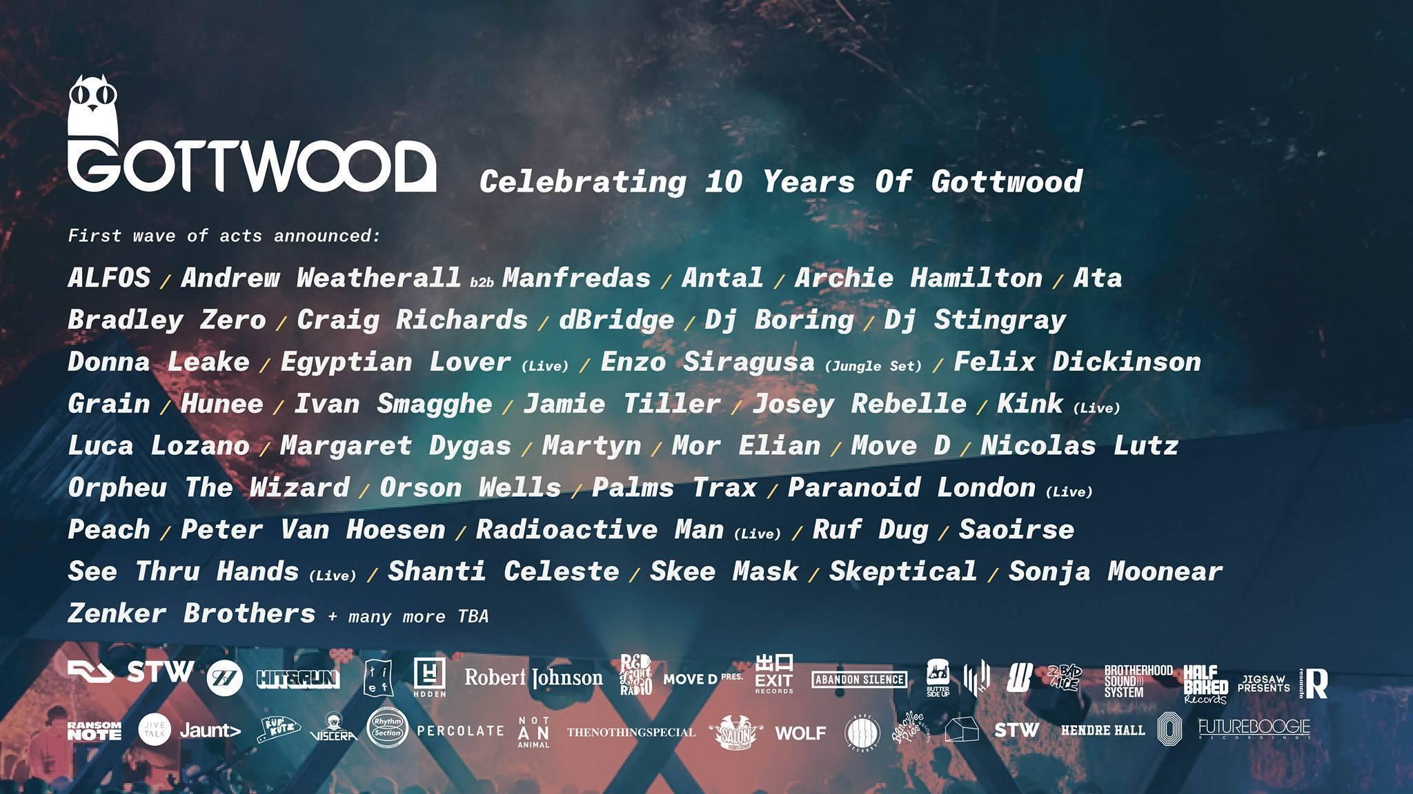 Gottwood Festival 2019 Line Up