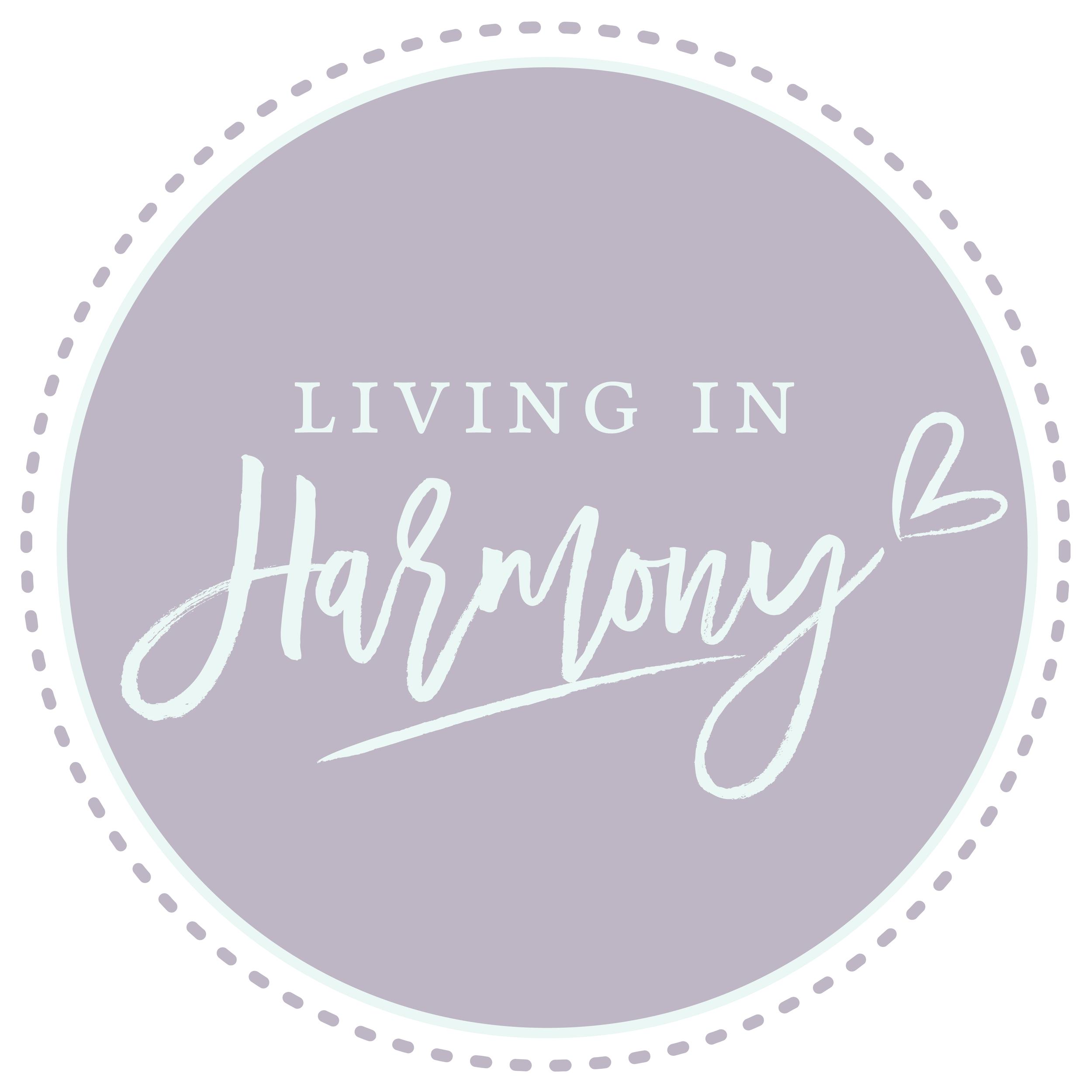 Living in Harmony Logo