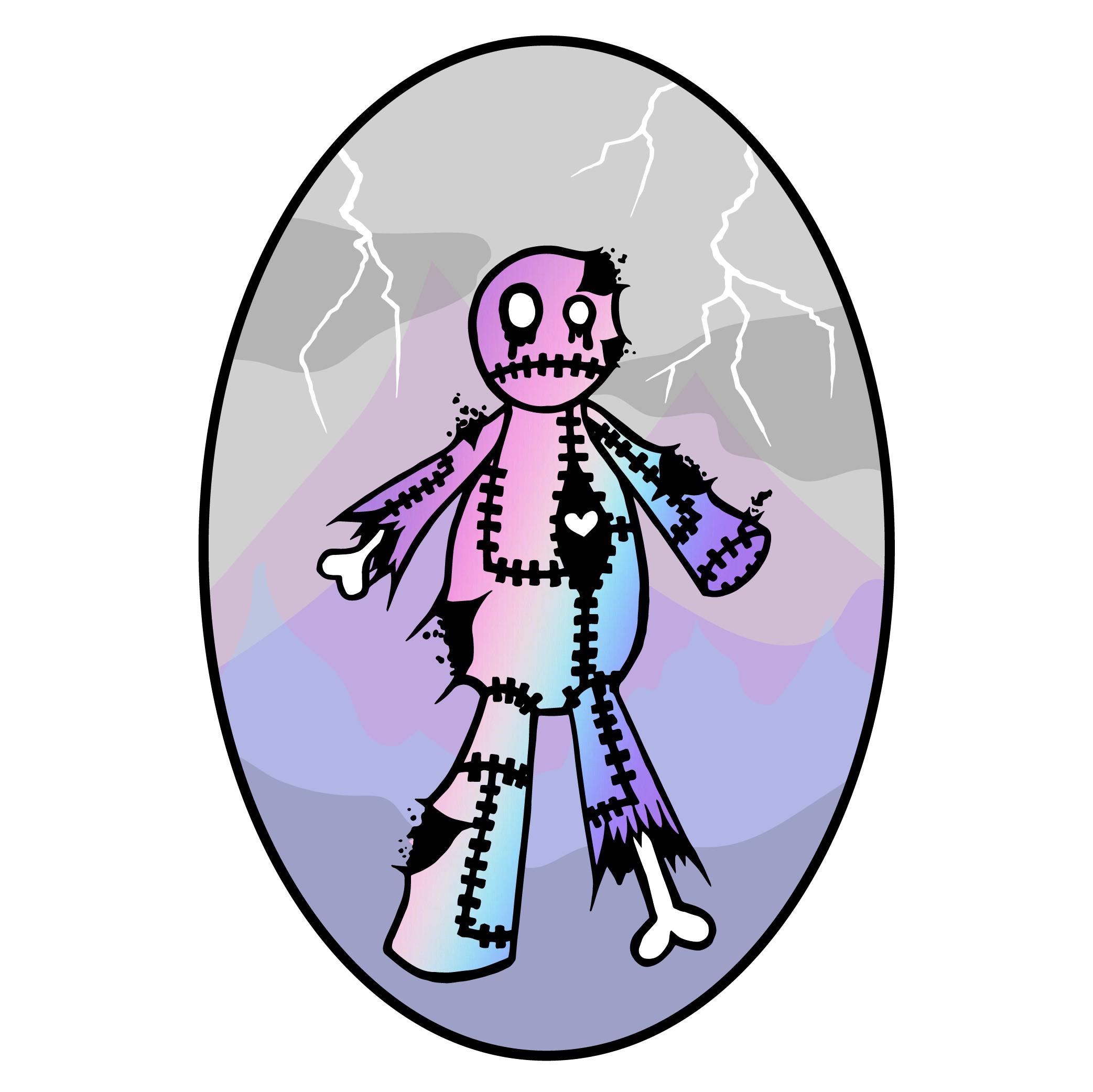Pastel Zombie
