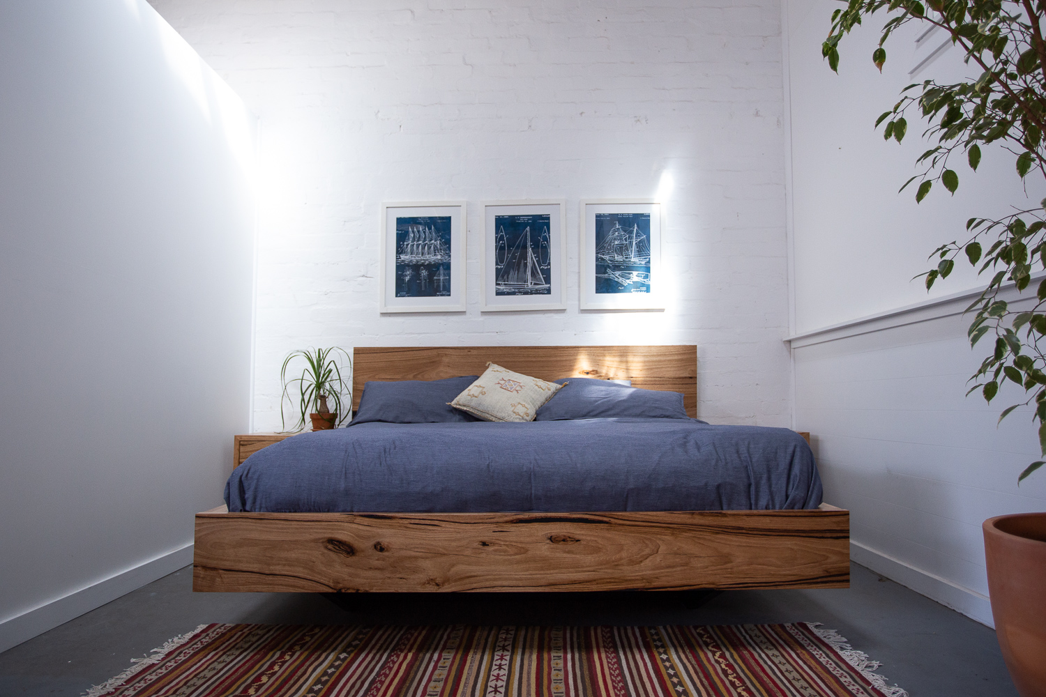 Paul s Messmate Timber Floating Bed 1