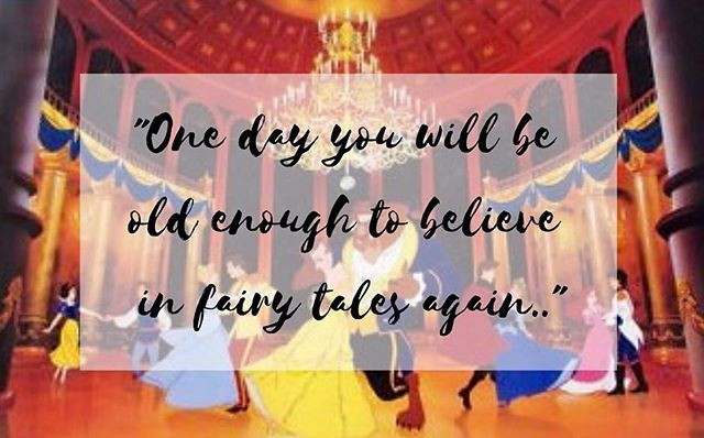 You're never too old to believe that fairytales can come true 💫✨