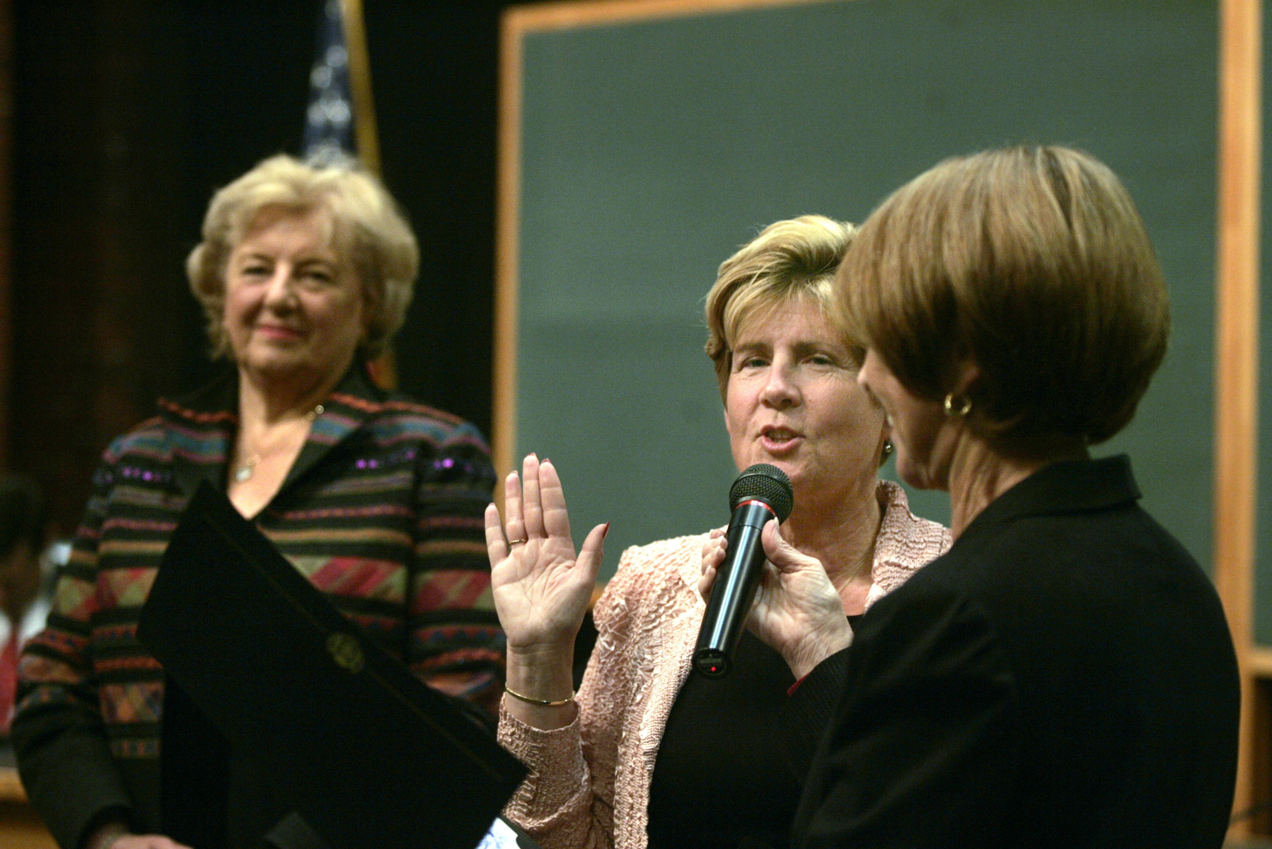 Swearing-in Saratoga City Council
