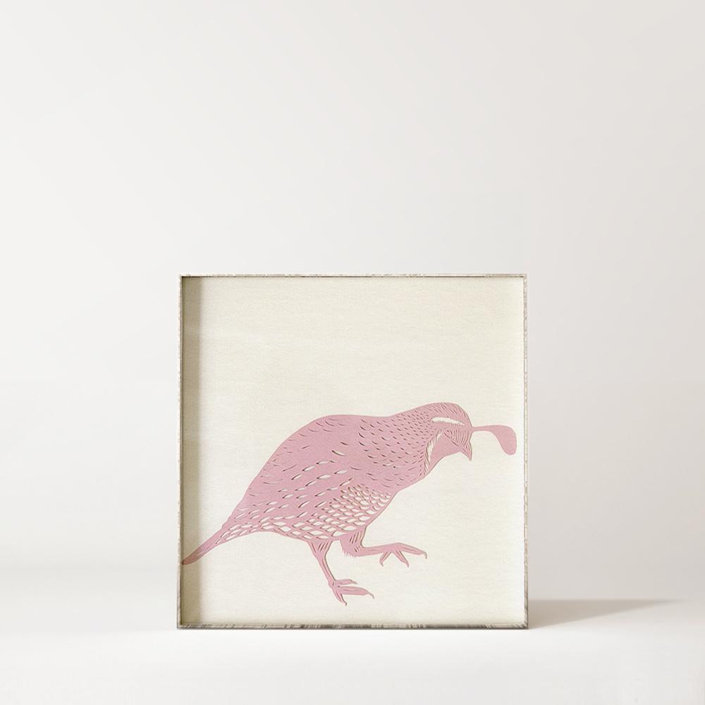California Quail Papercut