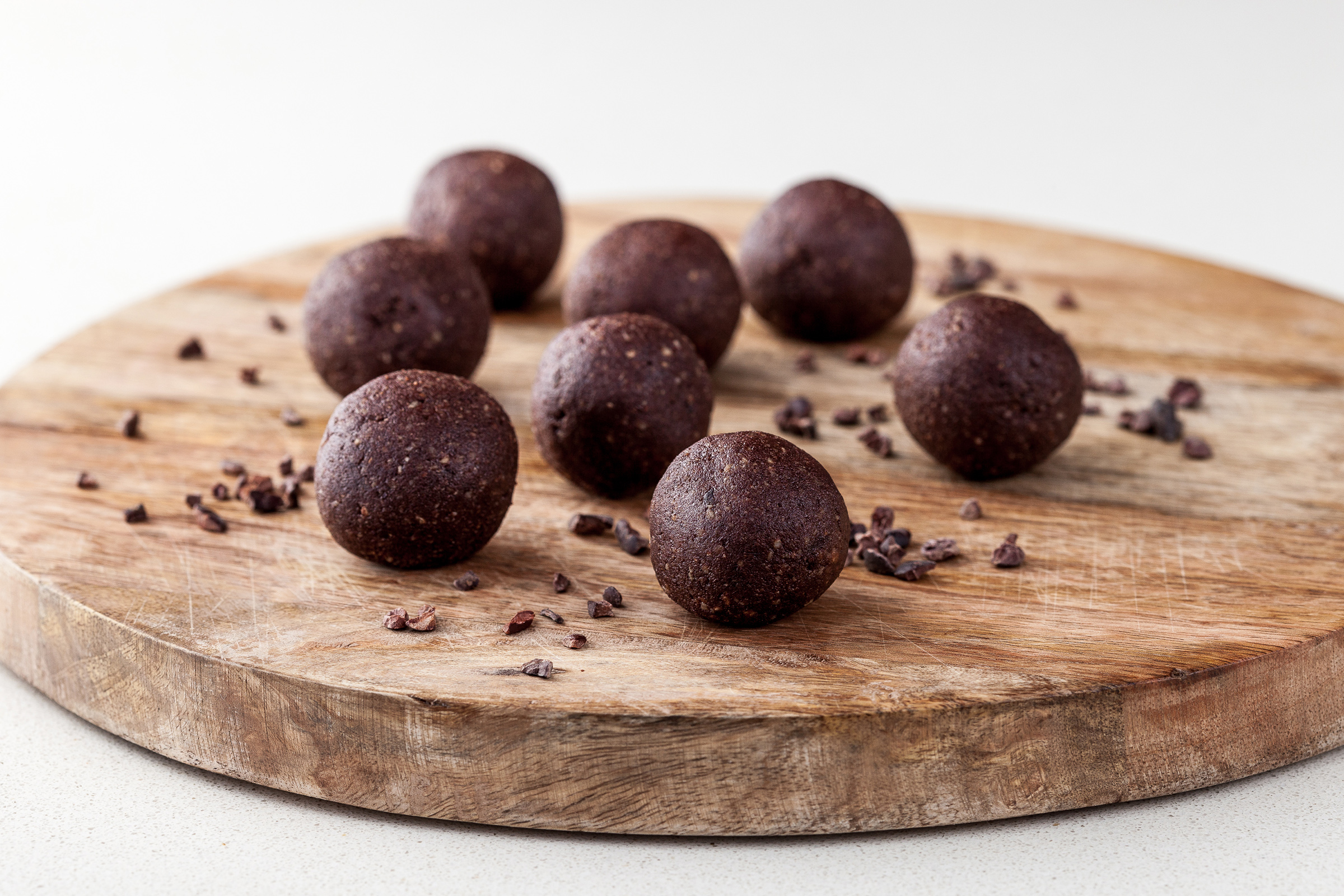 Choc-Hazelnut Bliss Balls_Fed for Wellness