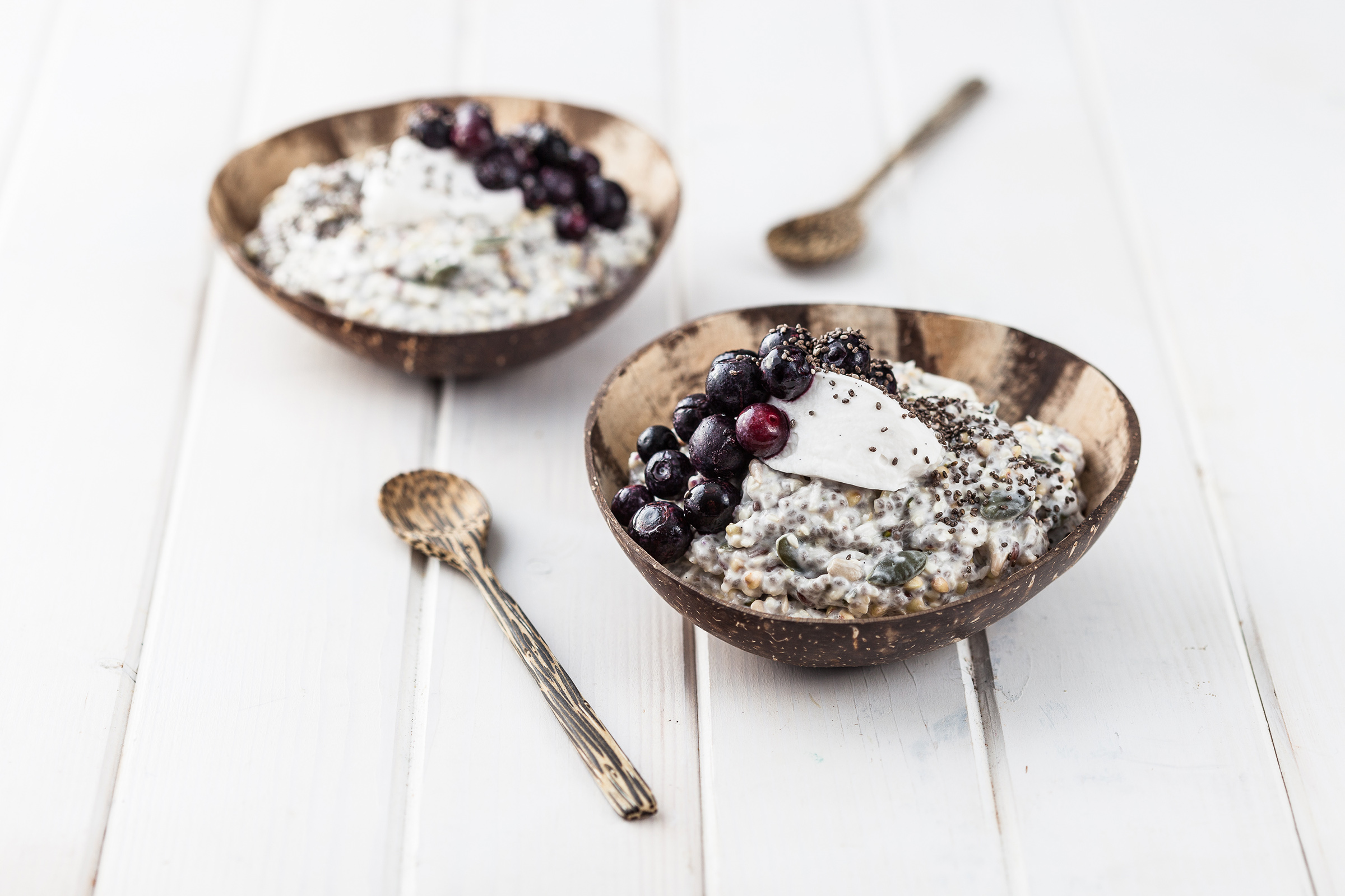 Vegan and Gluten Free and Grain Free Bircher Muesli