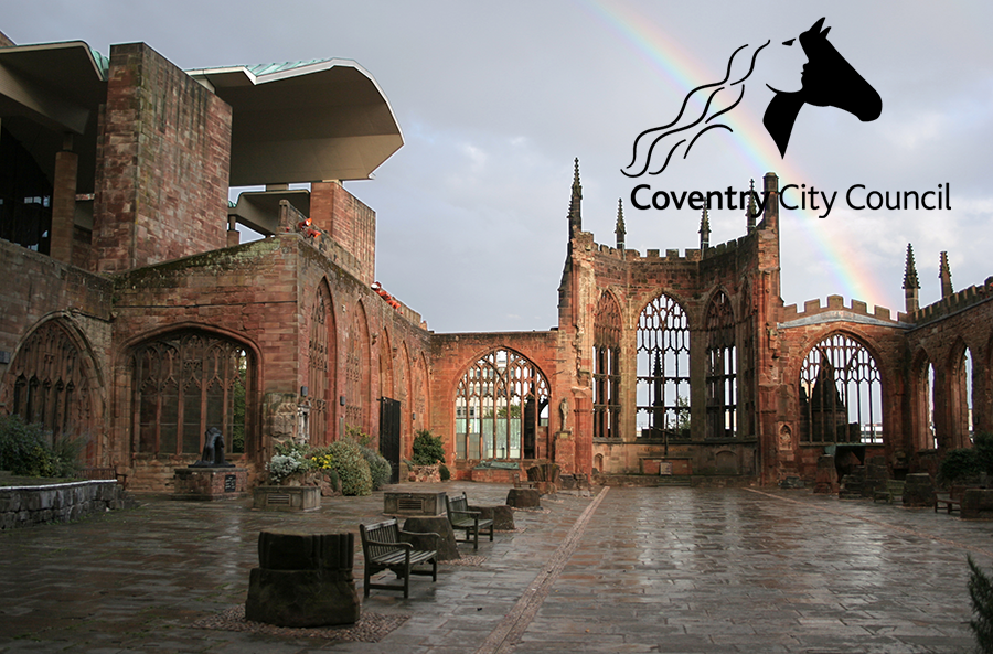 Coventry City Council - Coventry City Council is a metropolitan authority located in the city of Coventry, England. The Council has a ten year vision to be globally connected promoting the growth of a sustainable Coventry economy and locally committed to improving the quality of life for Coventry people. Coventry's cultural strategy 2017-2027 outlines a ten-year vision for the cultural life of Coventry, building on the existing heritage and culture of Coventry http://covculture.com