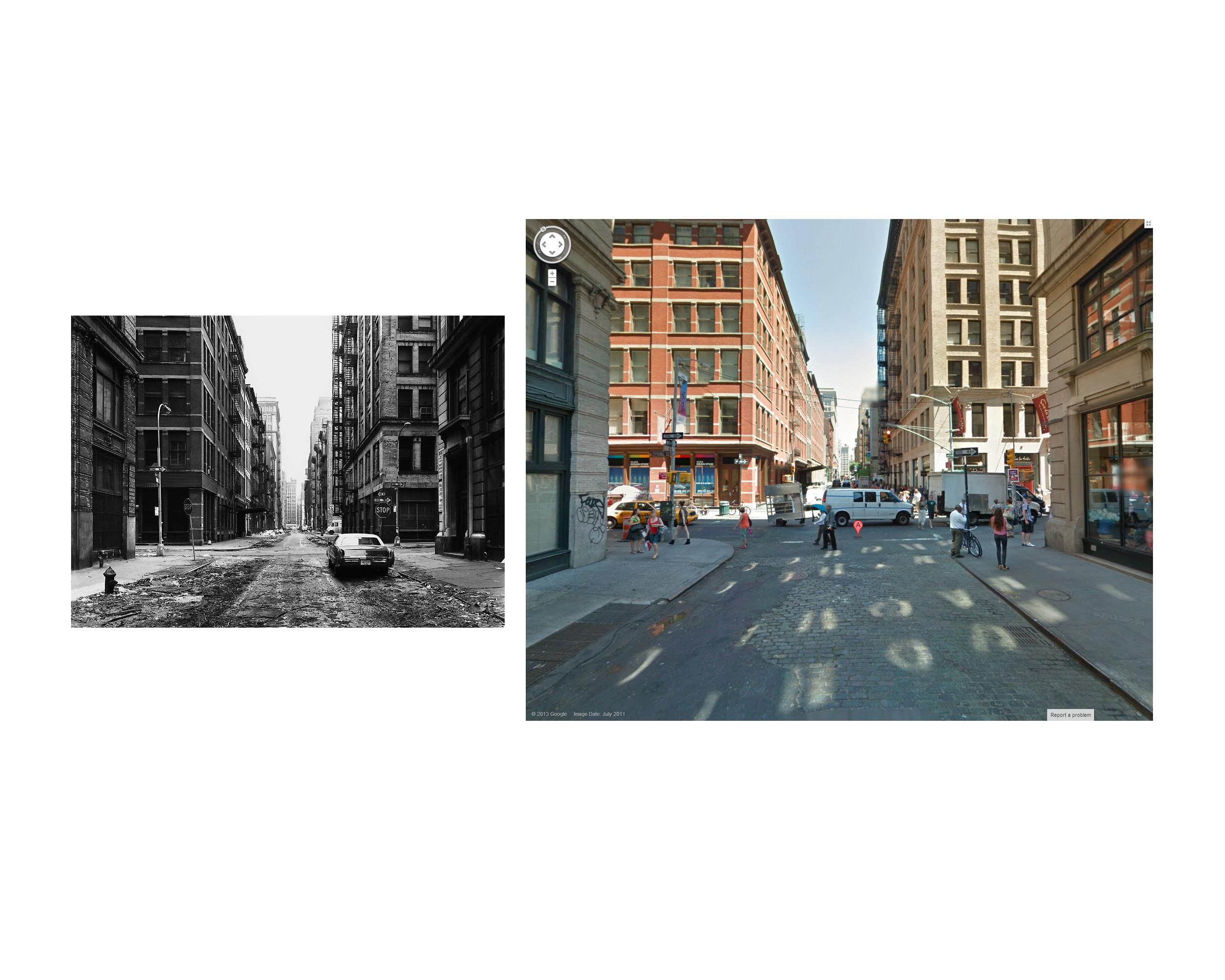 Thomas Struth, Crosby Street, New York City 1978