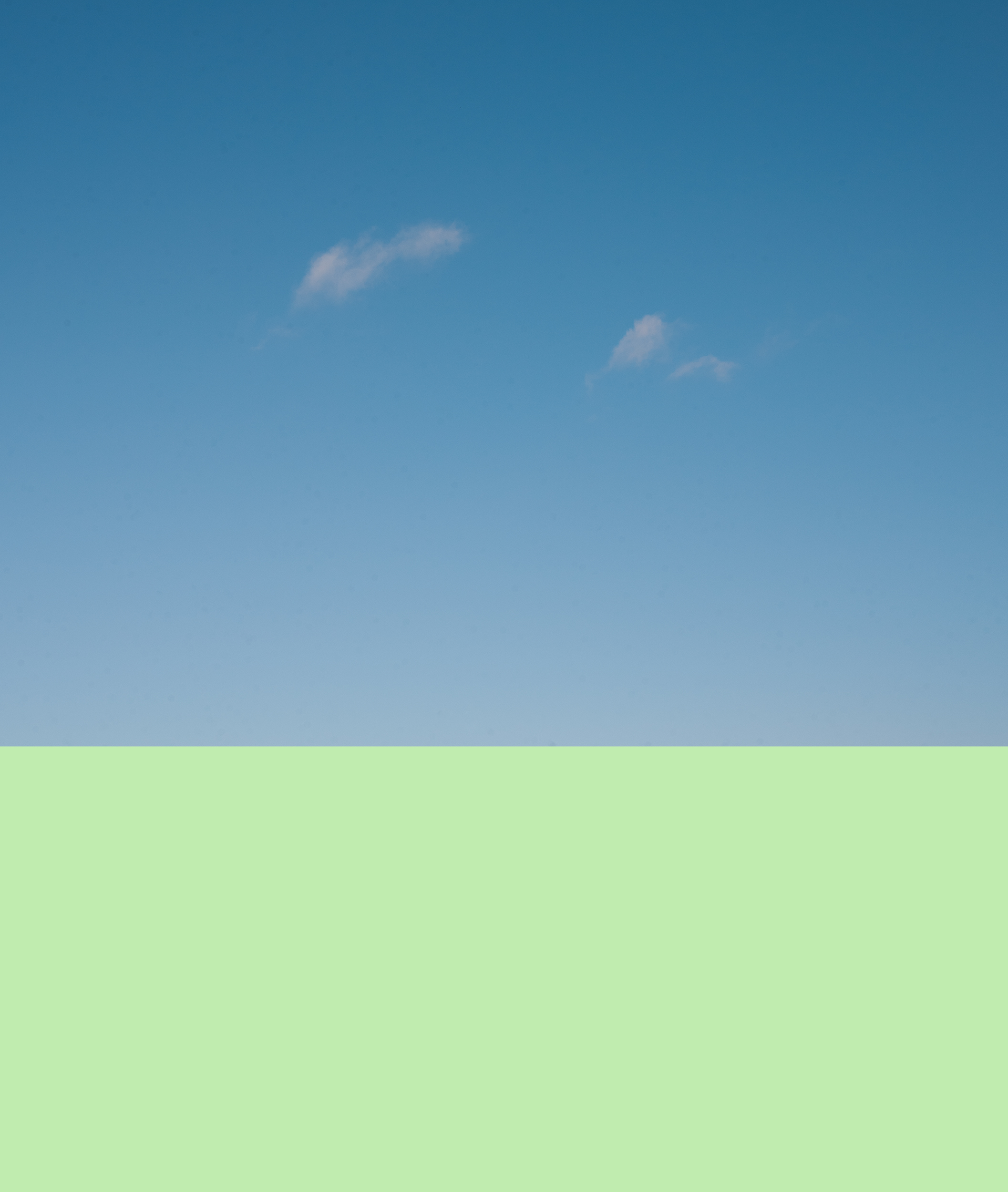 'Blue Sky, Google Green'