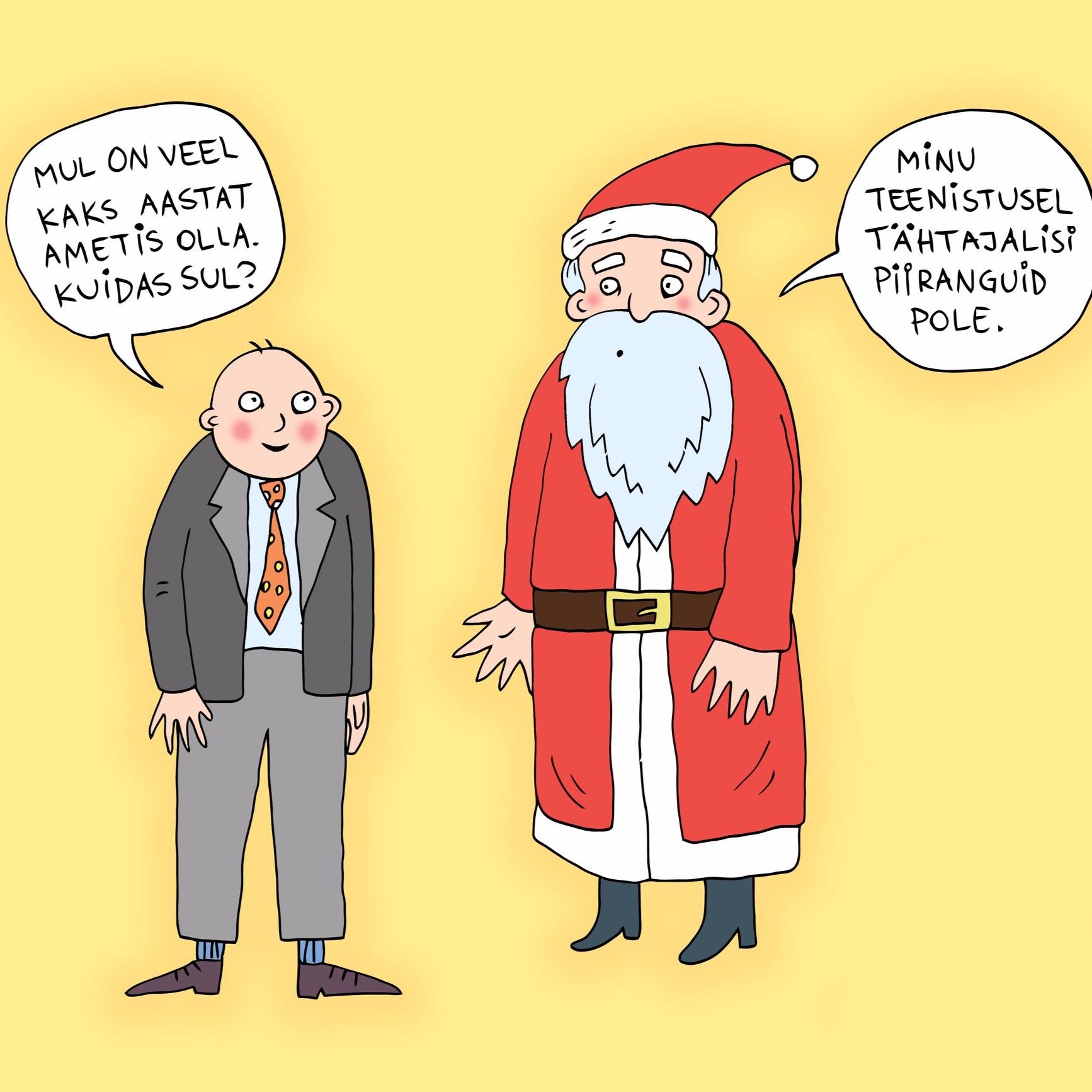24.12   (illustratsioon: Ave Taavet)   Jõulupühade algusega lõpetab ka meie ideekalender. Aitäh lugemast, kaasa mõtlemast ja vaatamast Ave Taaveti, AW Stuffi ning Urmas Nemvaltsi vahvaid illustratsioone!