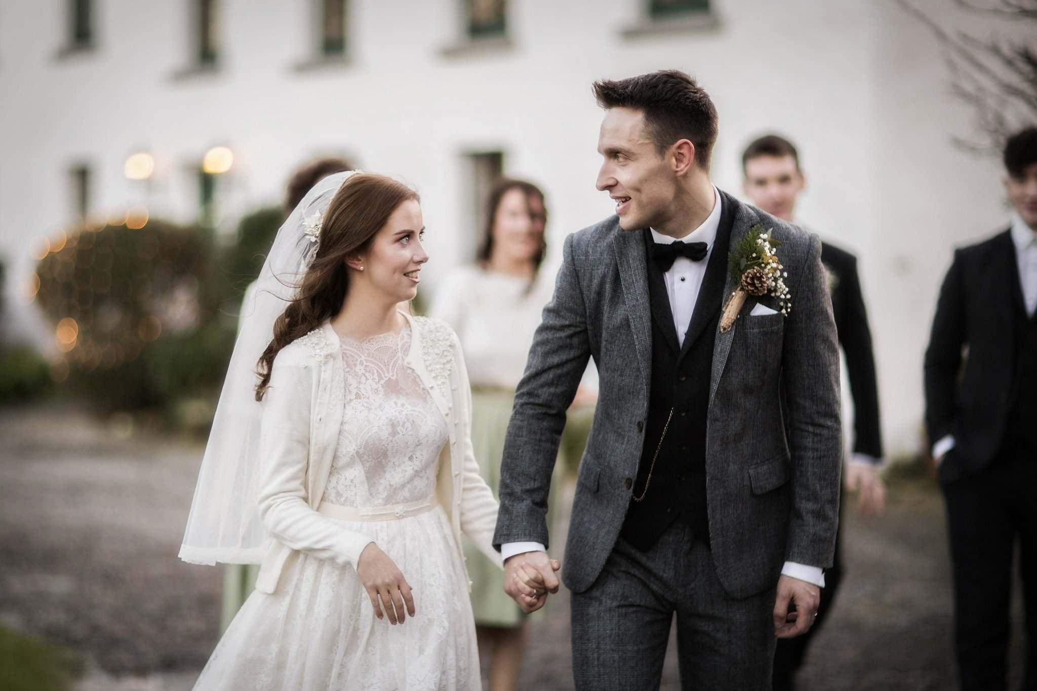 Dirty Fabulous Real Bride juliet veil