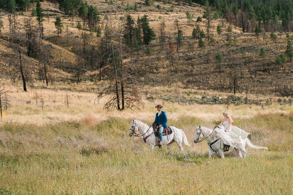 bride-groom-riding-horses andrea dirty fabulous vintage wedding dress.jpg