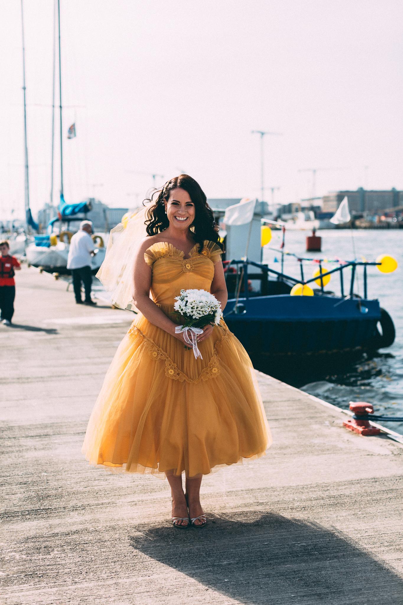 yellow wedding dress alternative bride.jpeg