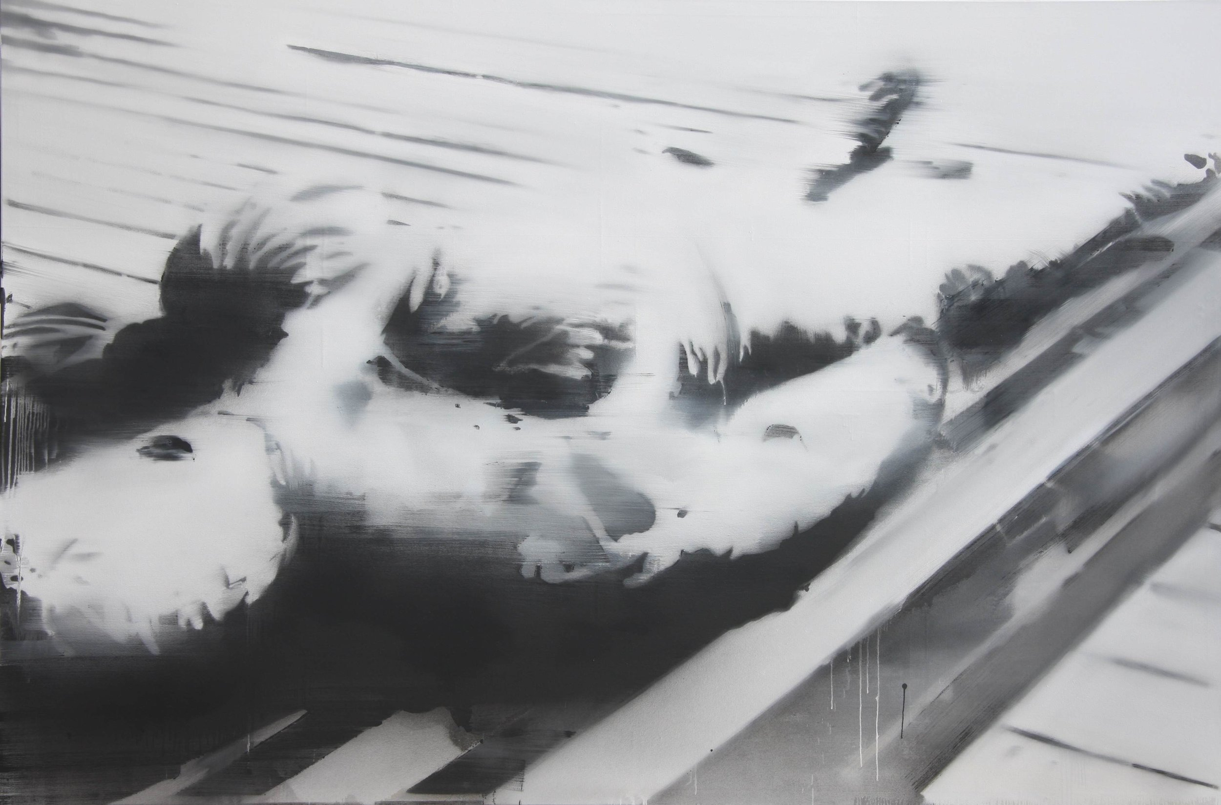 Kopie von 1020003 2010 Öl-Leinwand 200 x 300 cm