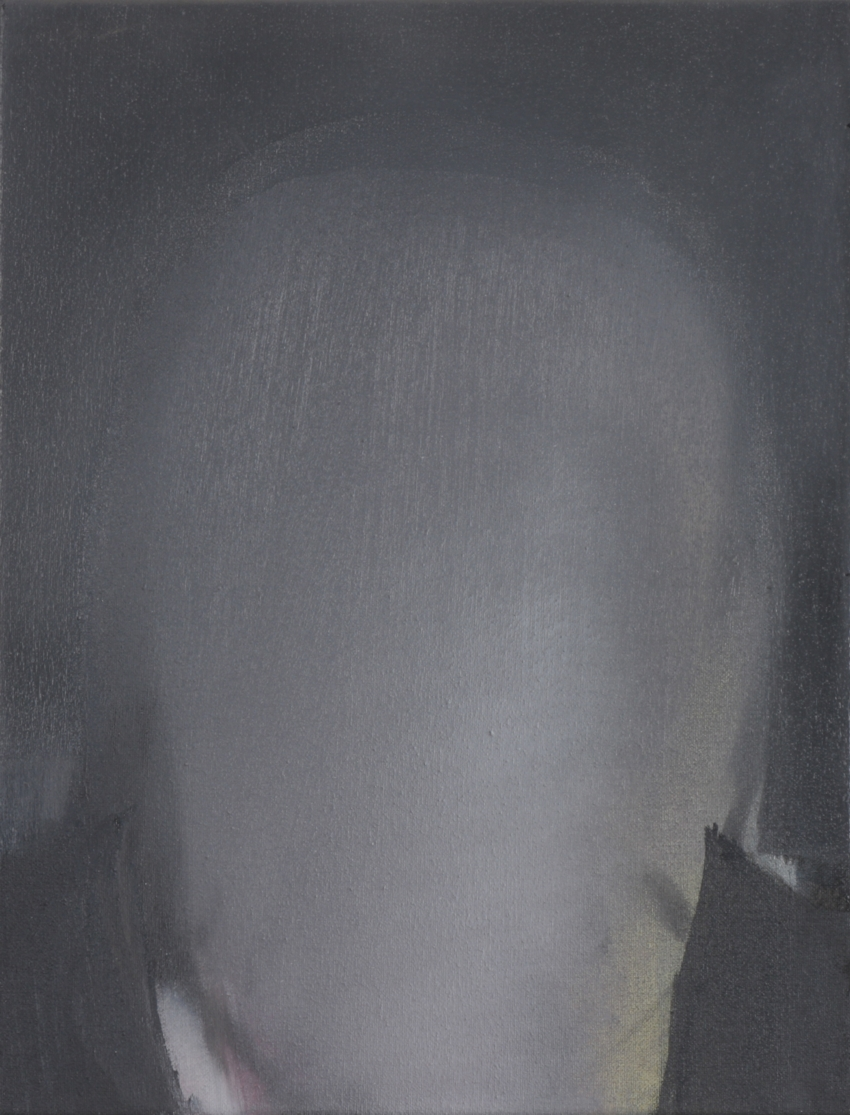 Kopie von O.T. 2001 Öl-Leinwand 45 x 35 cm