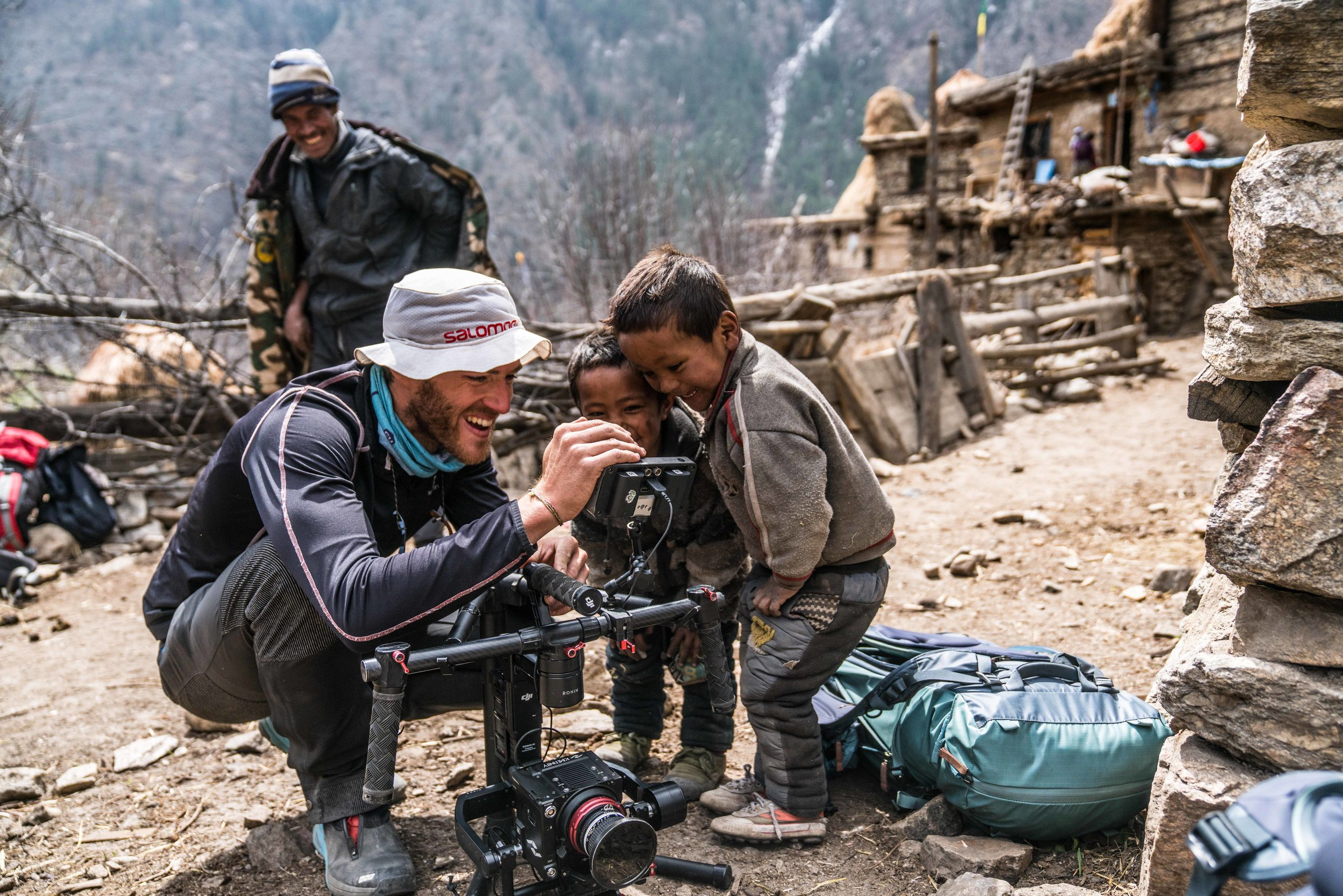 - Filming these adventures has taken him to over 25 countries in his time while working under filmmaker Dean Leslie, founder of the  production company Wandering Fever and the web series SalomonTV.