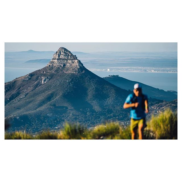 Cape Town, South Africa.  @ryansandes cruising on the @13_peaks route this past weekend. The first frame has the first two peaks behind Ryan, Signal Hill and Lion's Head, which @samannelawson and I tagged recently on our quest for some multi-day badges.  #13peaks #lionshead #capetown