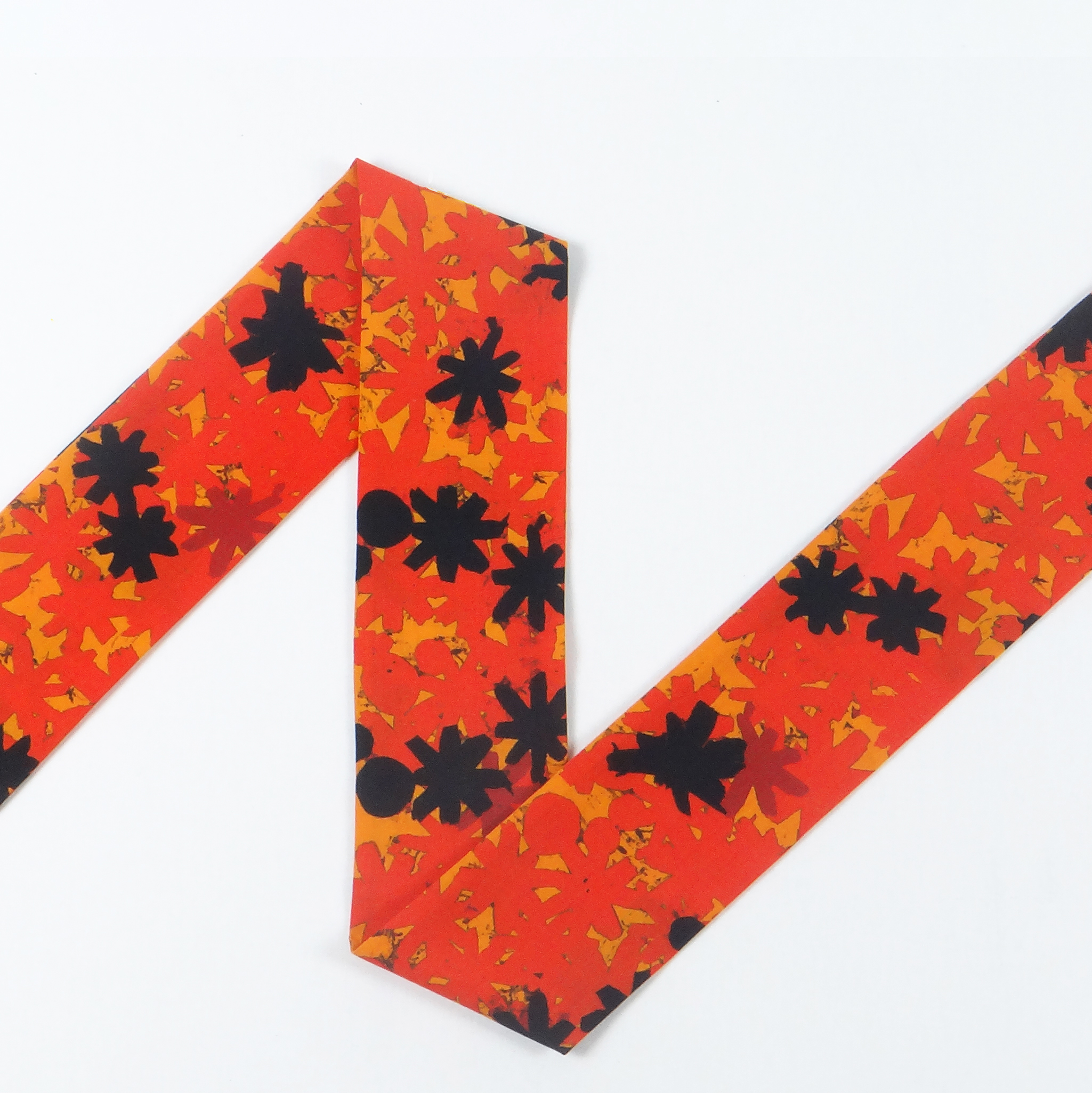Splotch Flowers - Tangerine