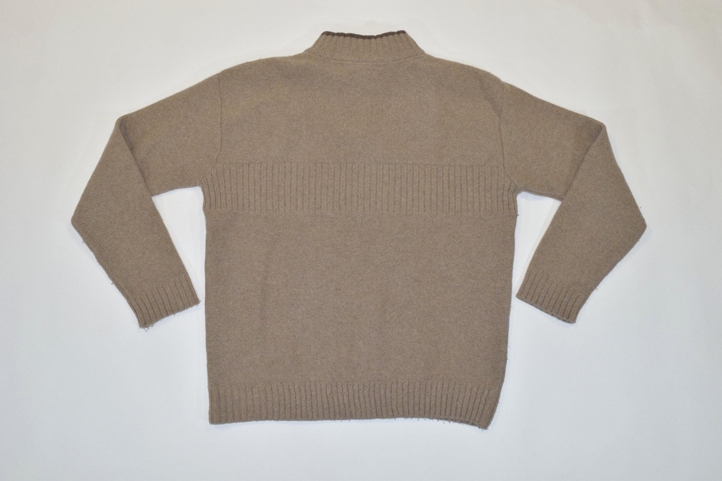 3eb7e0c9b4f53b Light Brown Fila 1/4 Zip Knit Jumper — Headlock Vintage