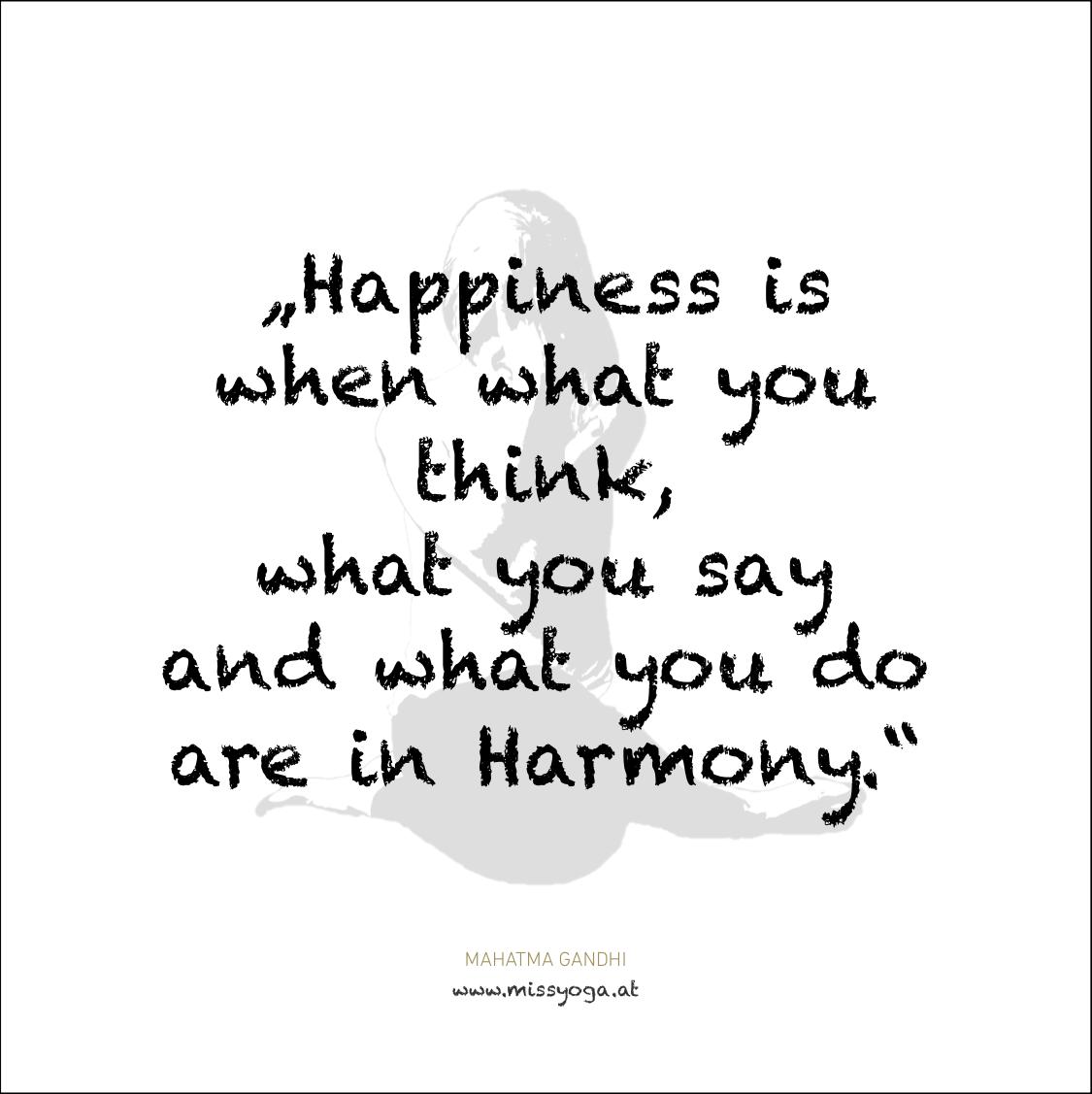 MISS YOGA ZITATE | Gandhi | Happiness.png