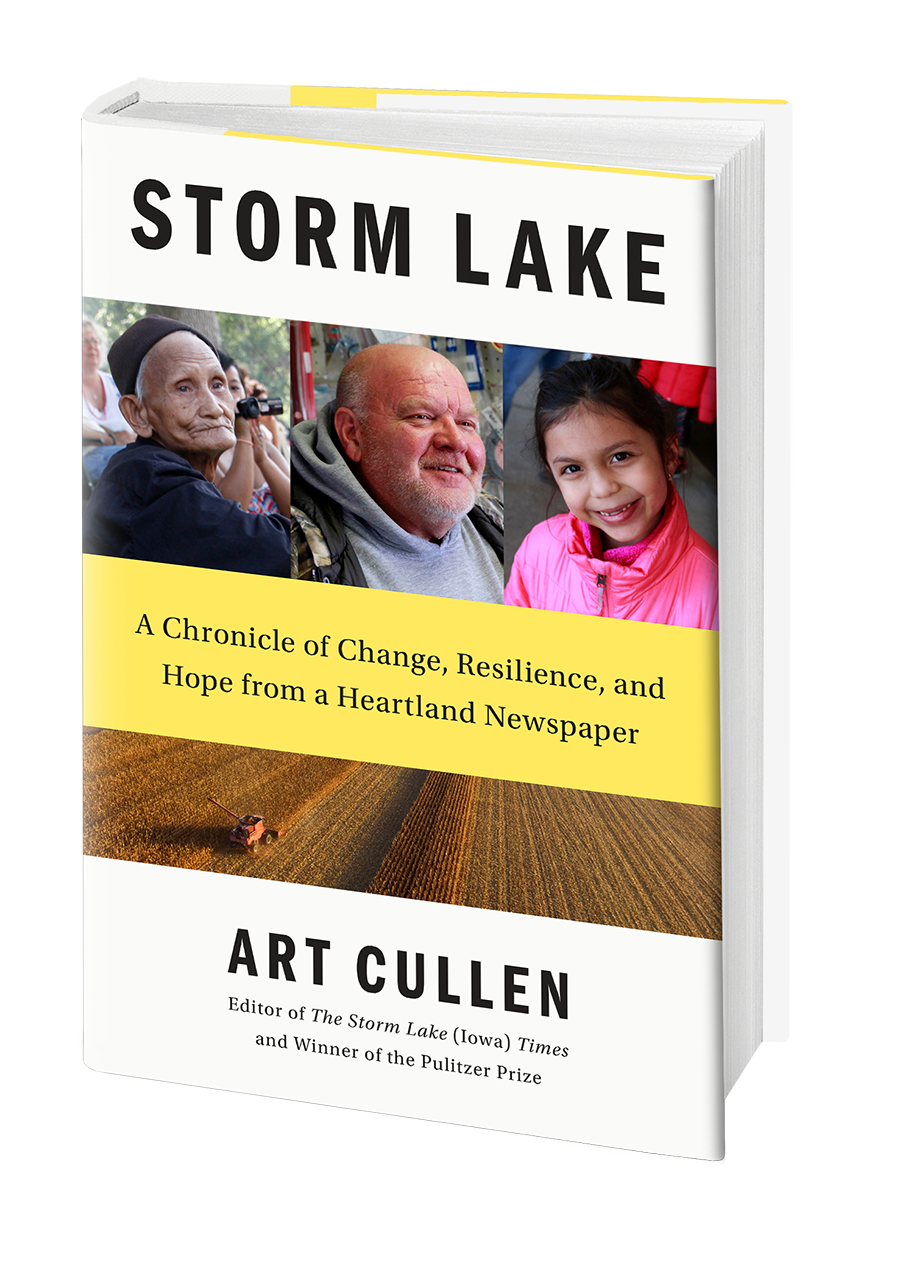 Buy the book:   Storm Lake