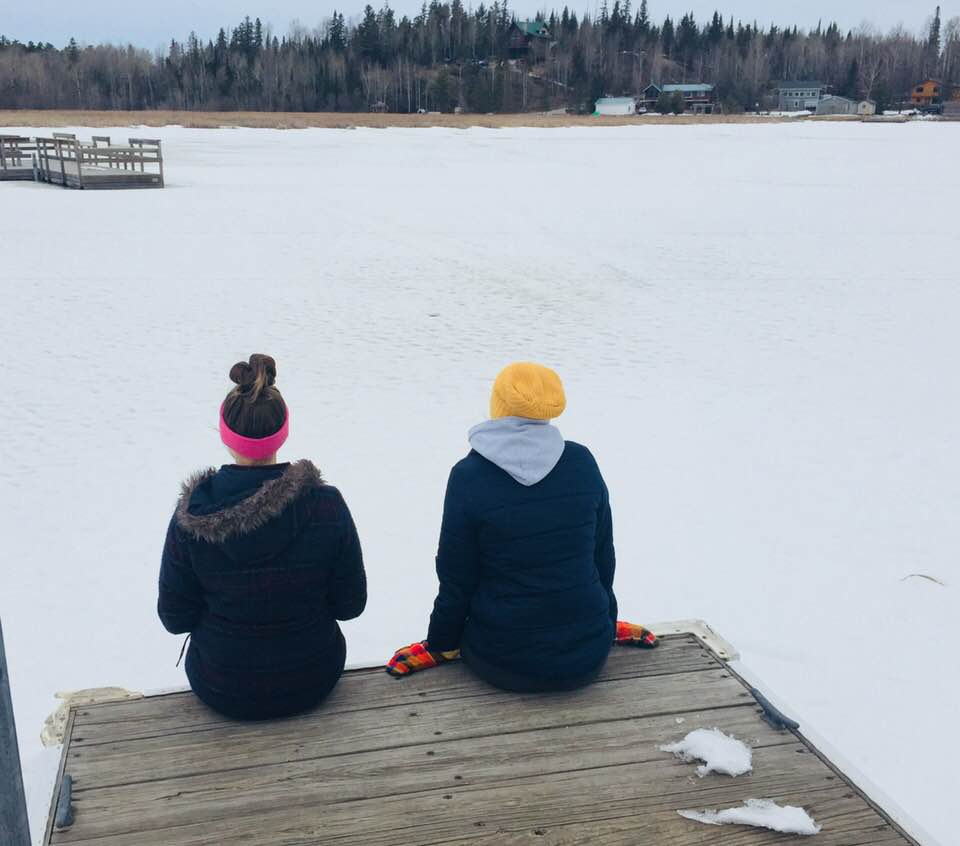 gracie and ella dock winter 2018.jpg
