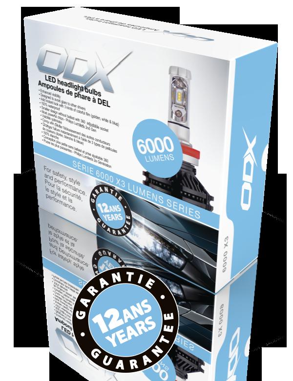 Runner Up! ODX X3 Series LED Bulbs