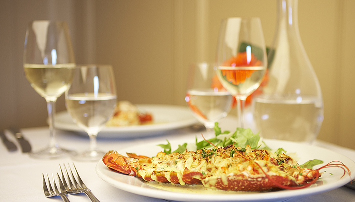 Lobster Thermidor Main Course