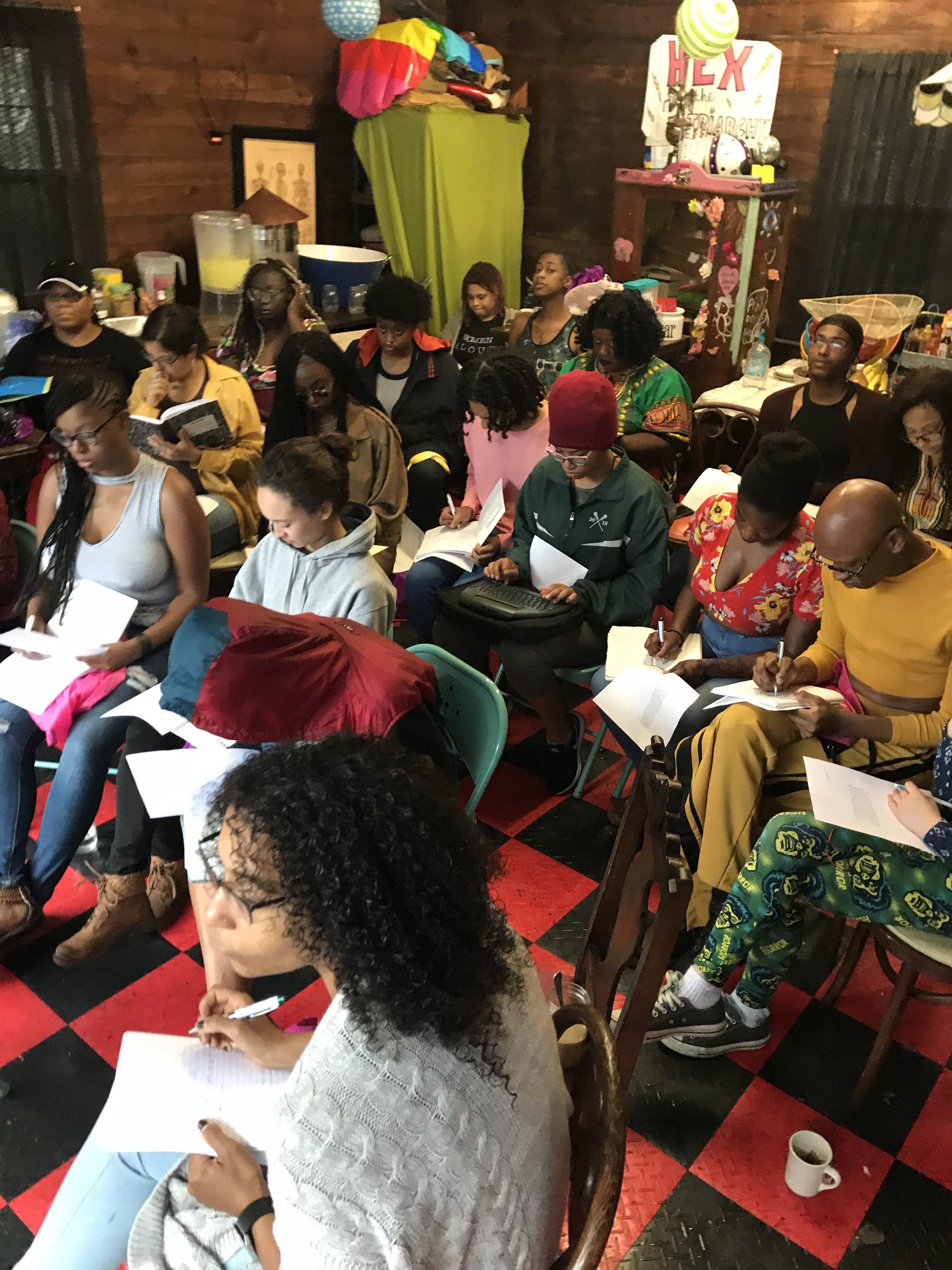 2017 poetry workshop