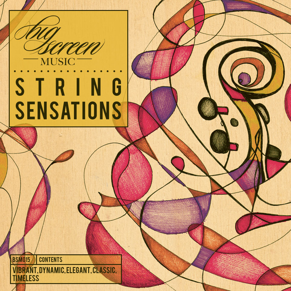 """""""Vibrant, Dynamic, Elegant, Classic, Timeless"""" - A new album release from Big Screen Music featuring 'New Beginnings' and 'Plans and Preparations'.Violin & Viola: Max Baillie  Cello:Ian Burdge."""