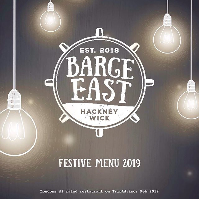 ❄️⚓️CHRISTMAS AT THE BARGE ⚓️❄️ Our Christmas brochure is now ready and our diary open!  Please email us at bookings@bargeeast.com to ensure your Christmas party is the most magical one yet ❤️