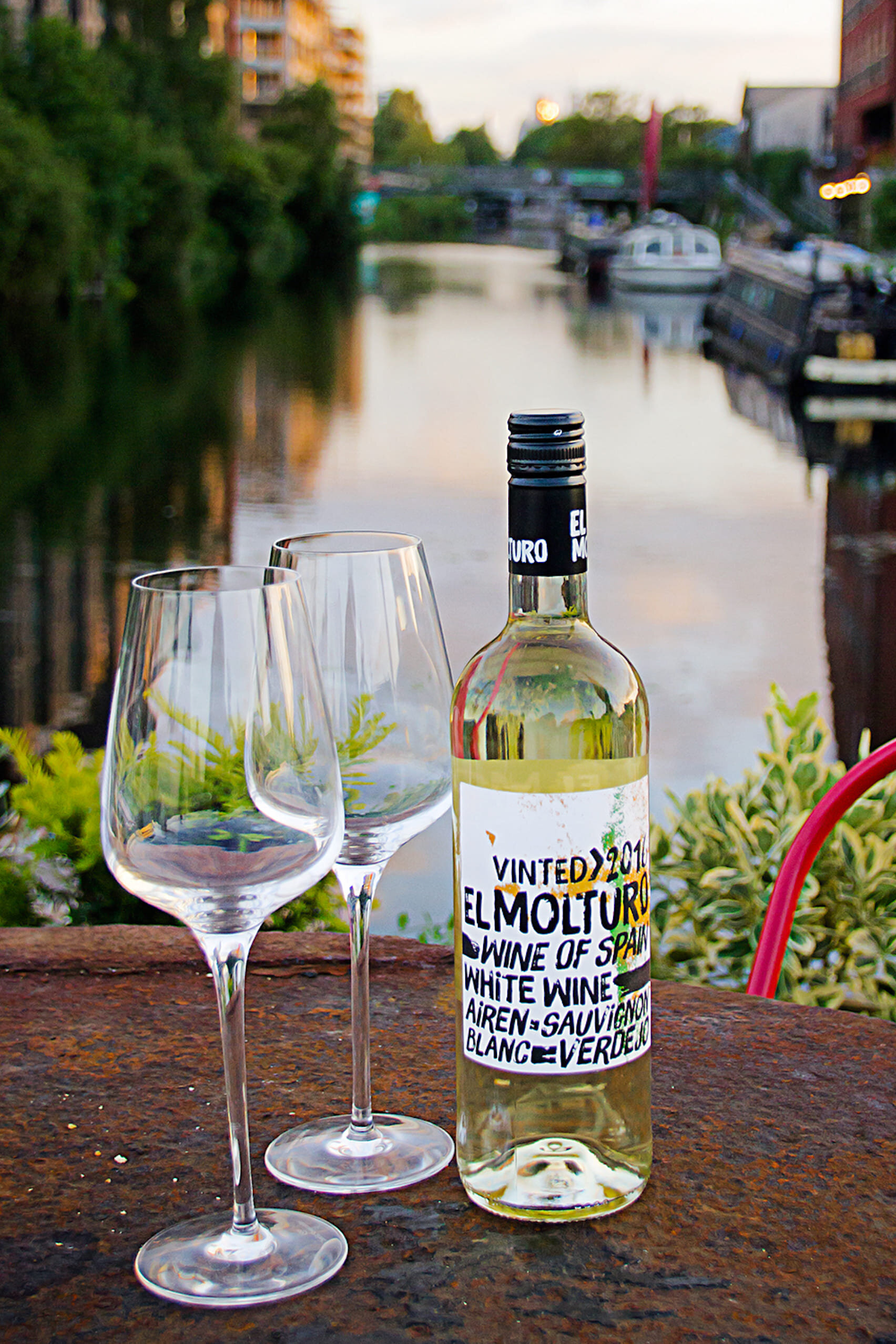 Local Sourced Wine Overlooking Hackney Wick Canalside.jpg