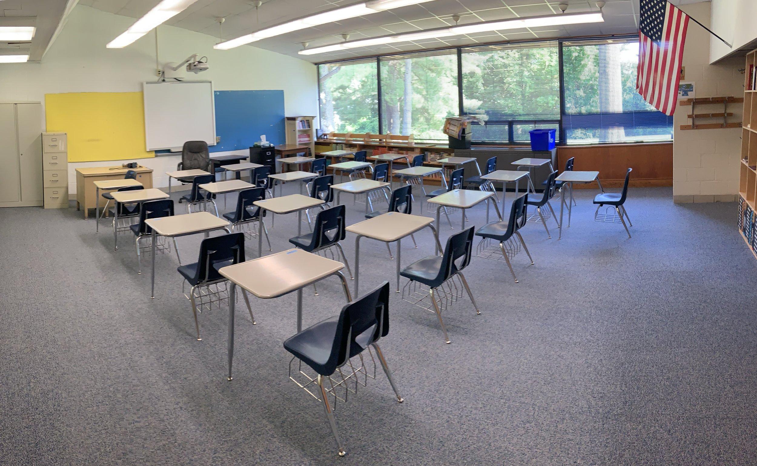 Language Arts classroom is sparkling!