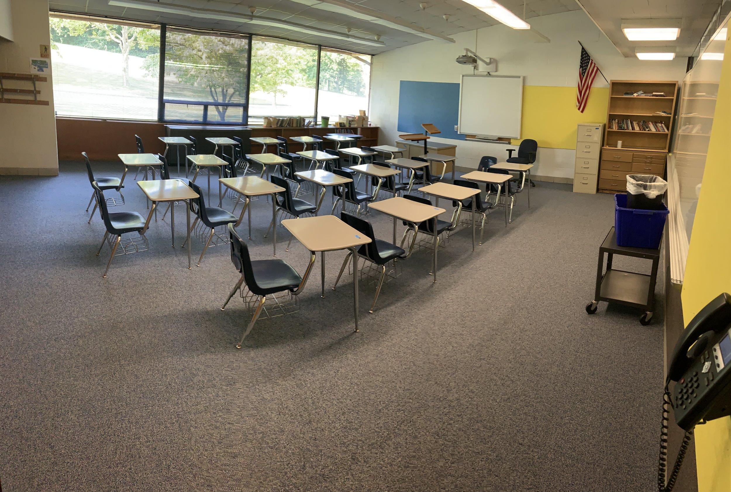Social Studies room is looking good!