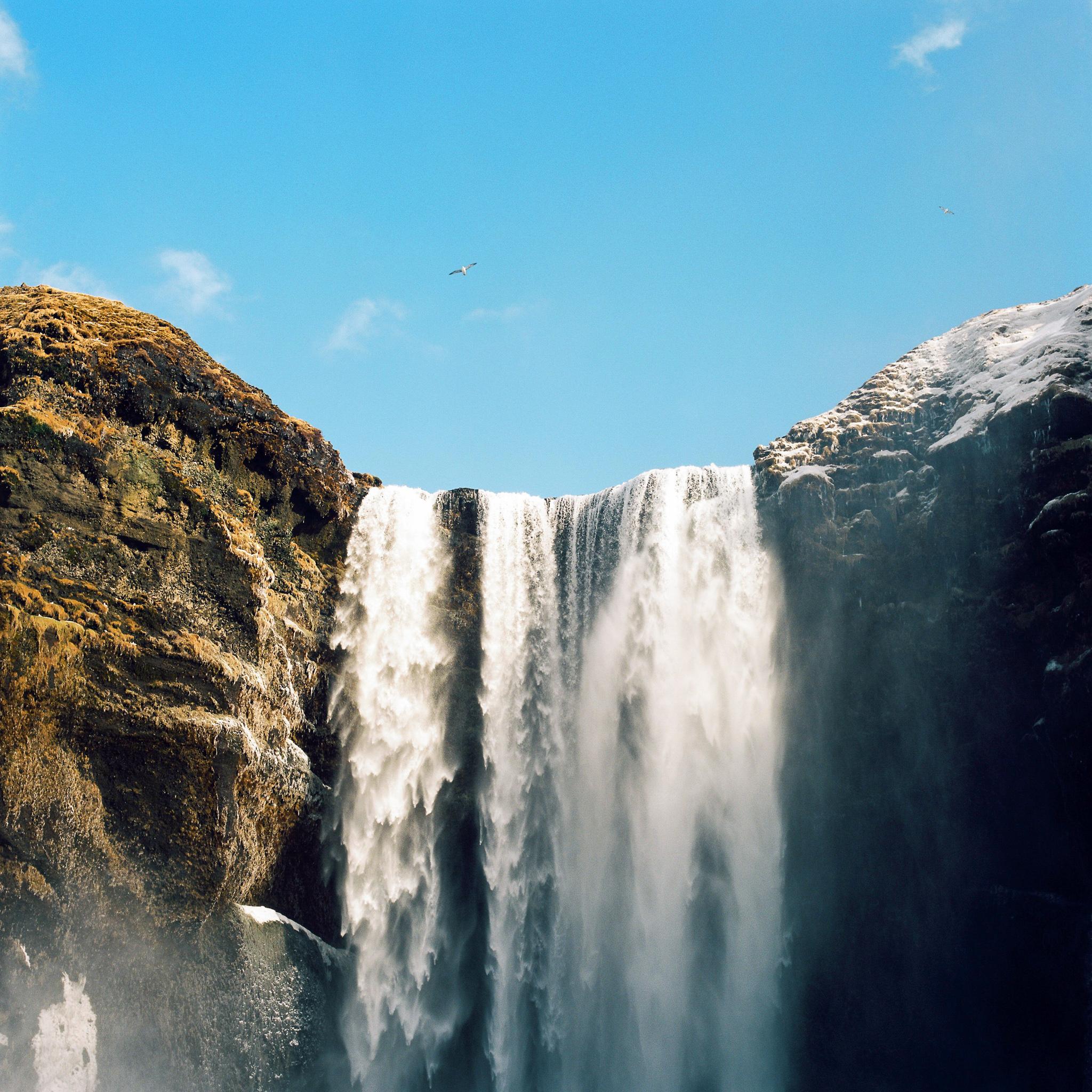 Skógafoss, Iceland. Hasselblad 500C/M, Kodak Ektar 100