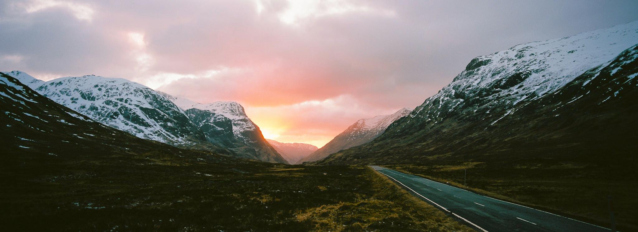Glencoe, Scotland. Hasselblad Xpan, 45mm. Kodak Ektar 100.