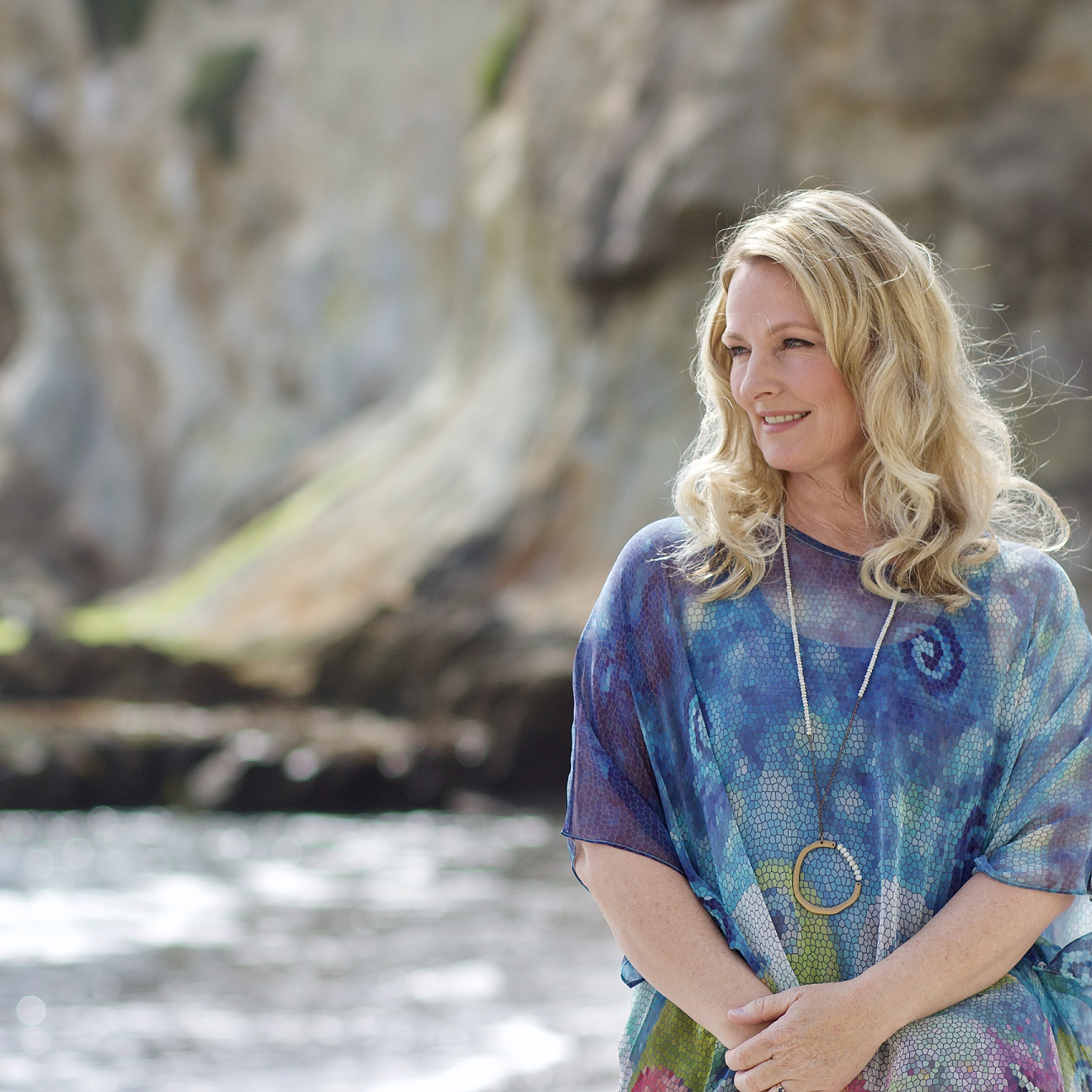 Photograph of Dr. Tammy Dobbs licensed clinical psychologist at the beach in California