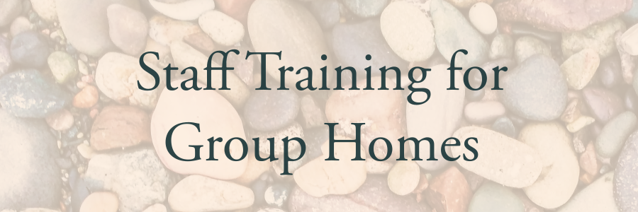 - I offer training for supervisors and staff of group homes for children with developmental disabilities.LEARN MORE