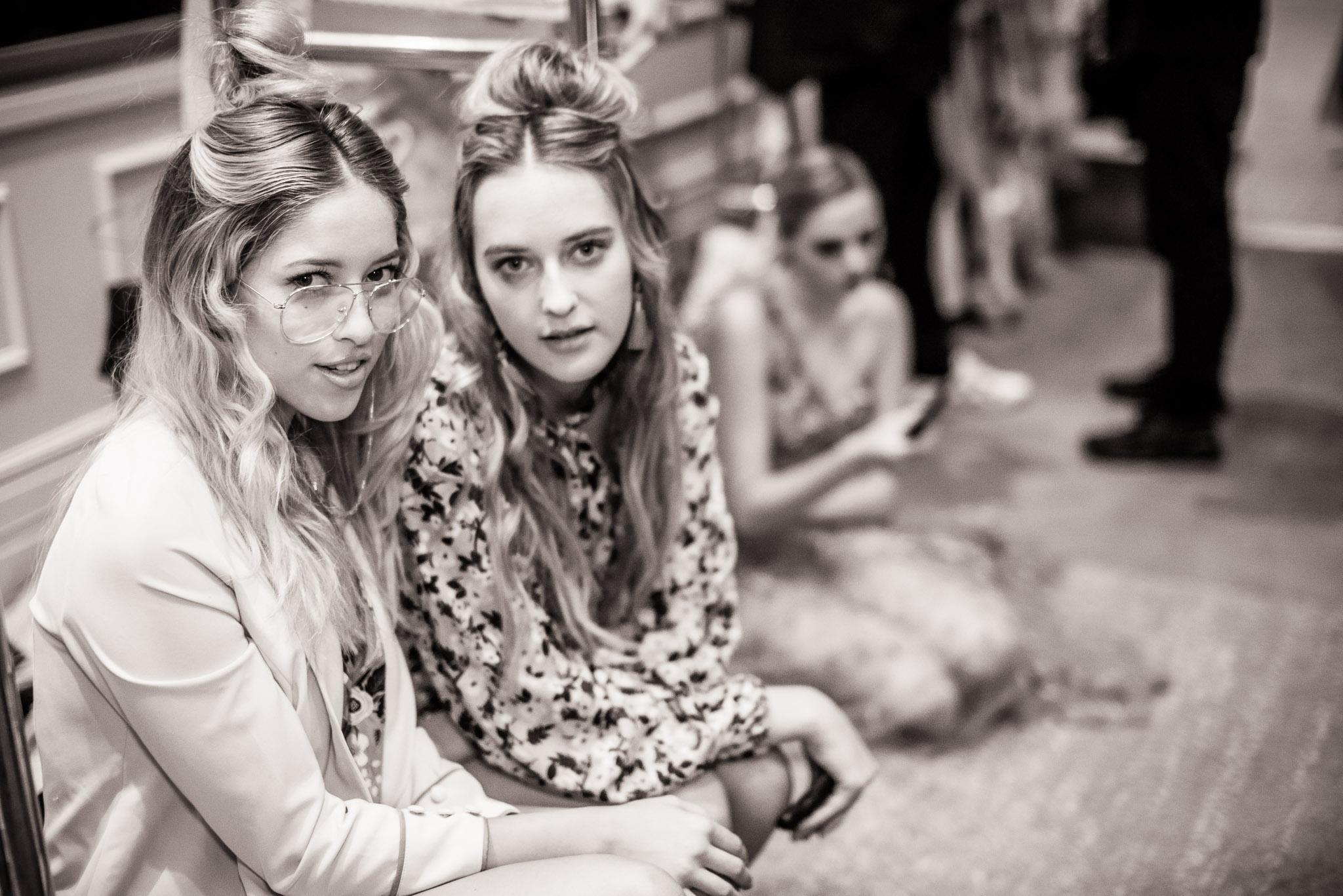 Backstage at Los Angeles Fashion Week, October 5th, 2017