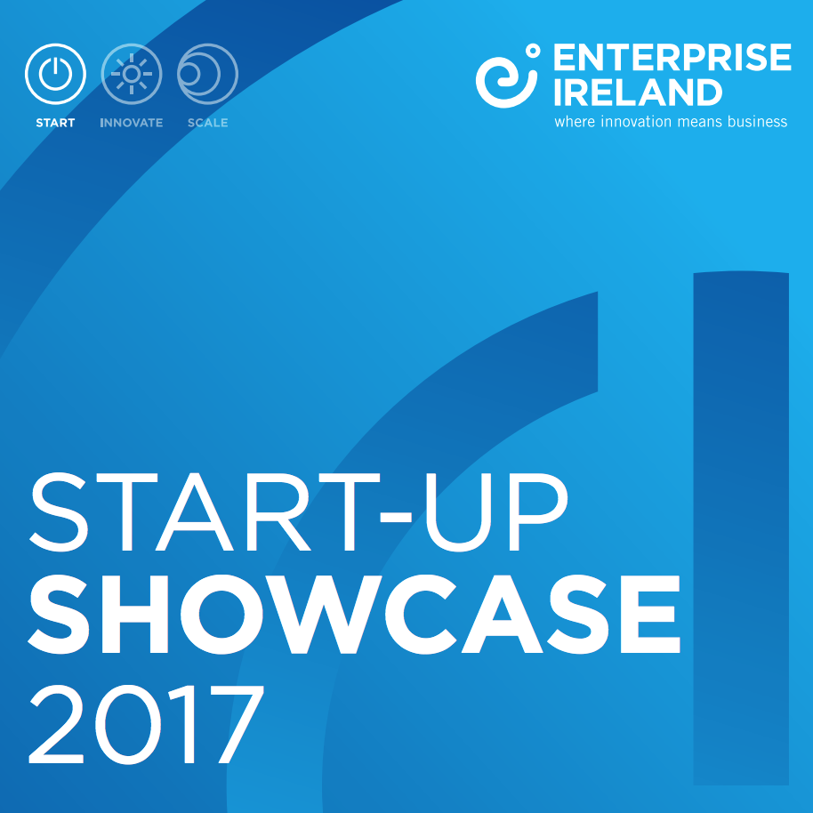 Featured in the Enterprise Ireland startup showcase 2017    Feb 2017