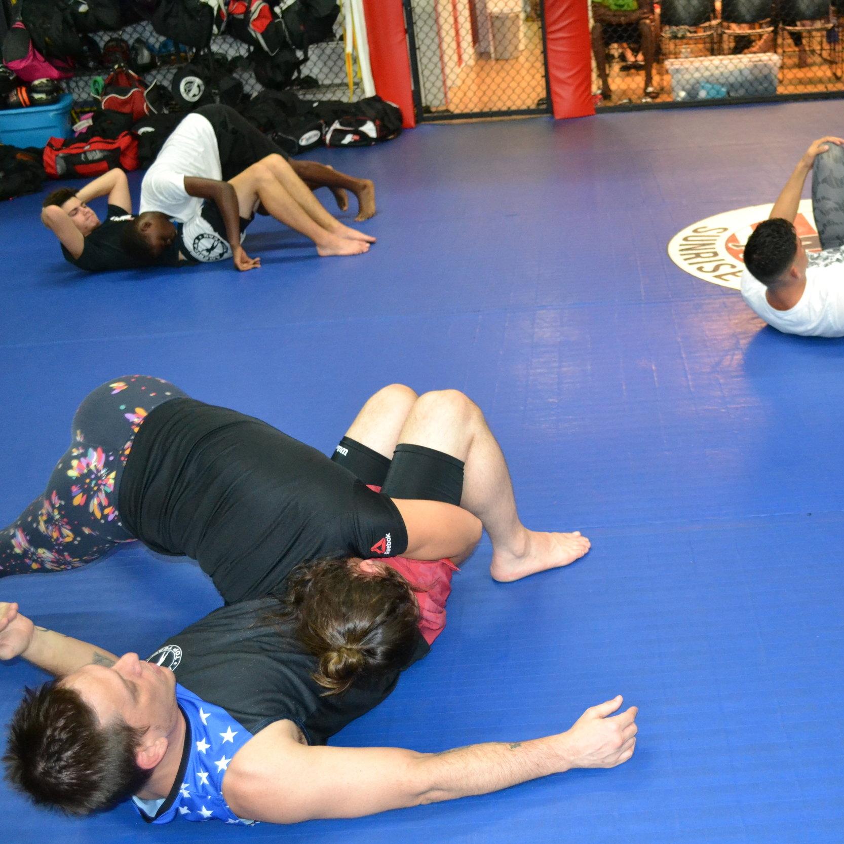 MMA Jiu-Jitsu (NO GI)