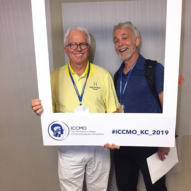 Dr. Coker and Dr. Highsmith attending the ICCMO meeting in Kansas City.