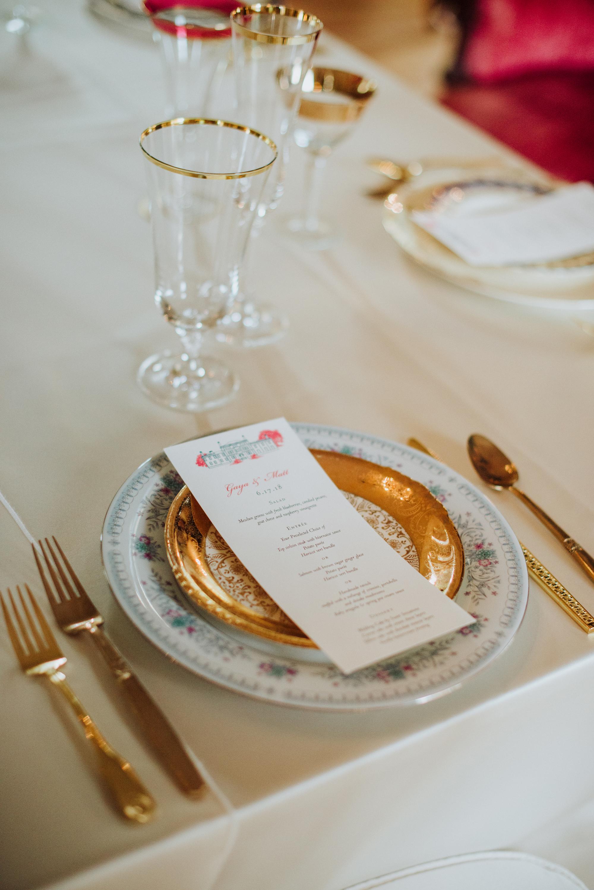 royal wedding tableware